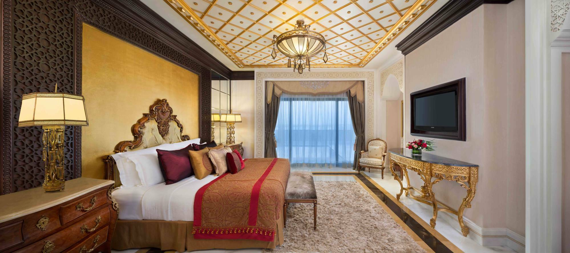 Jumeirah Zabeel Saray Grand Imperial Suite Chambre Dubai