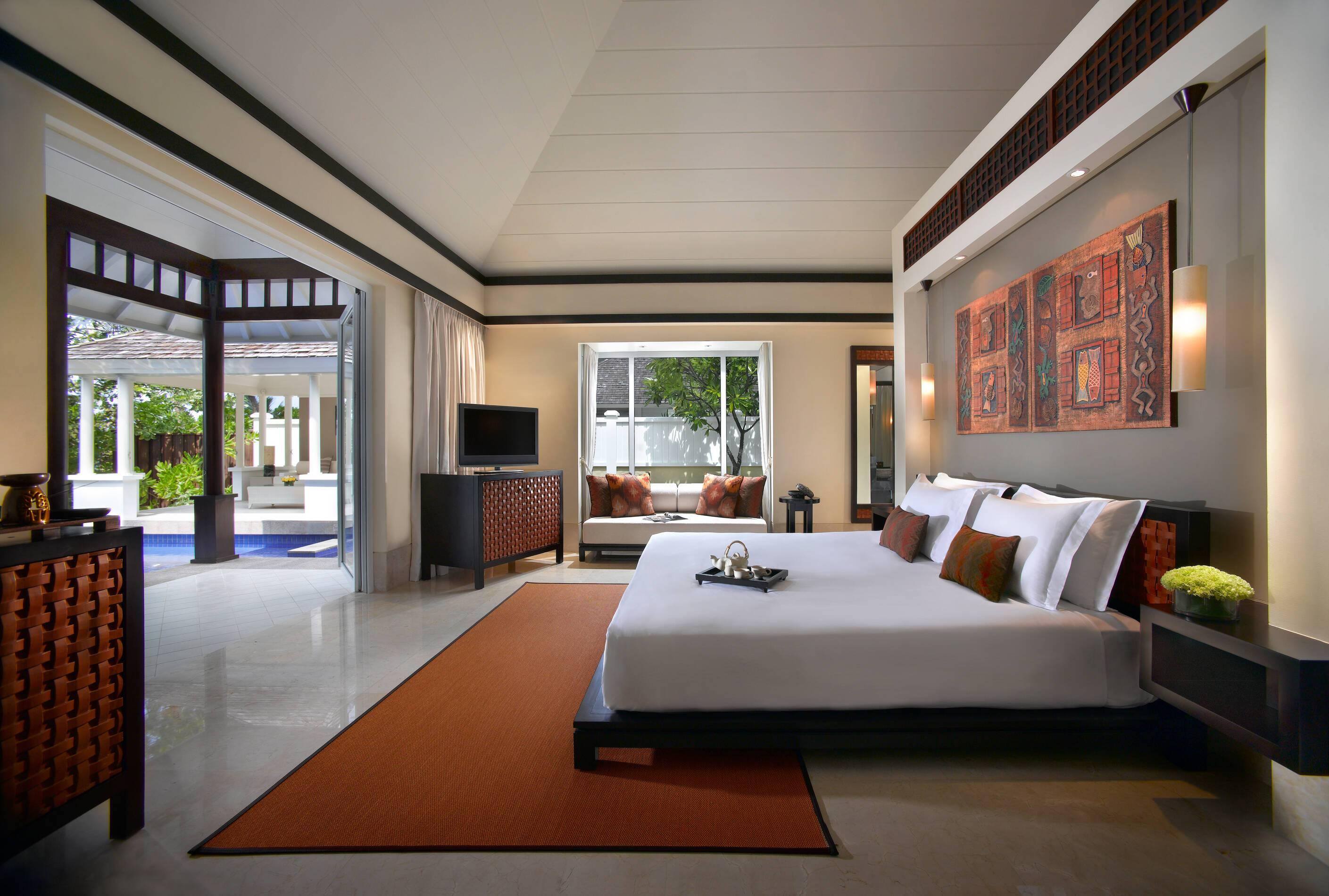 Banyan Tree Master Bedroom Chambre Seychelles