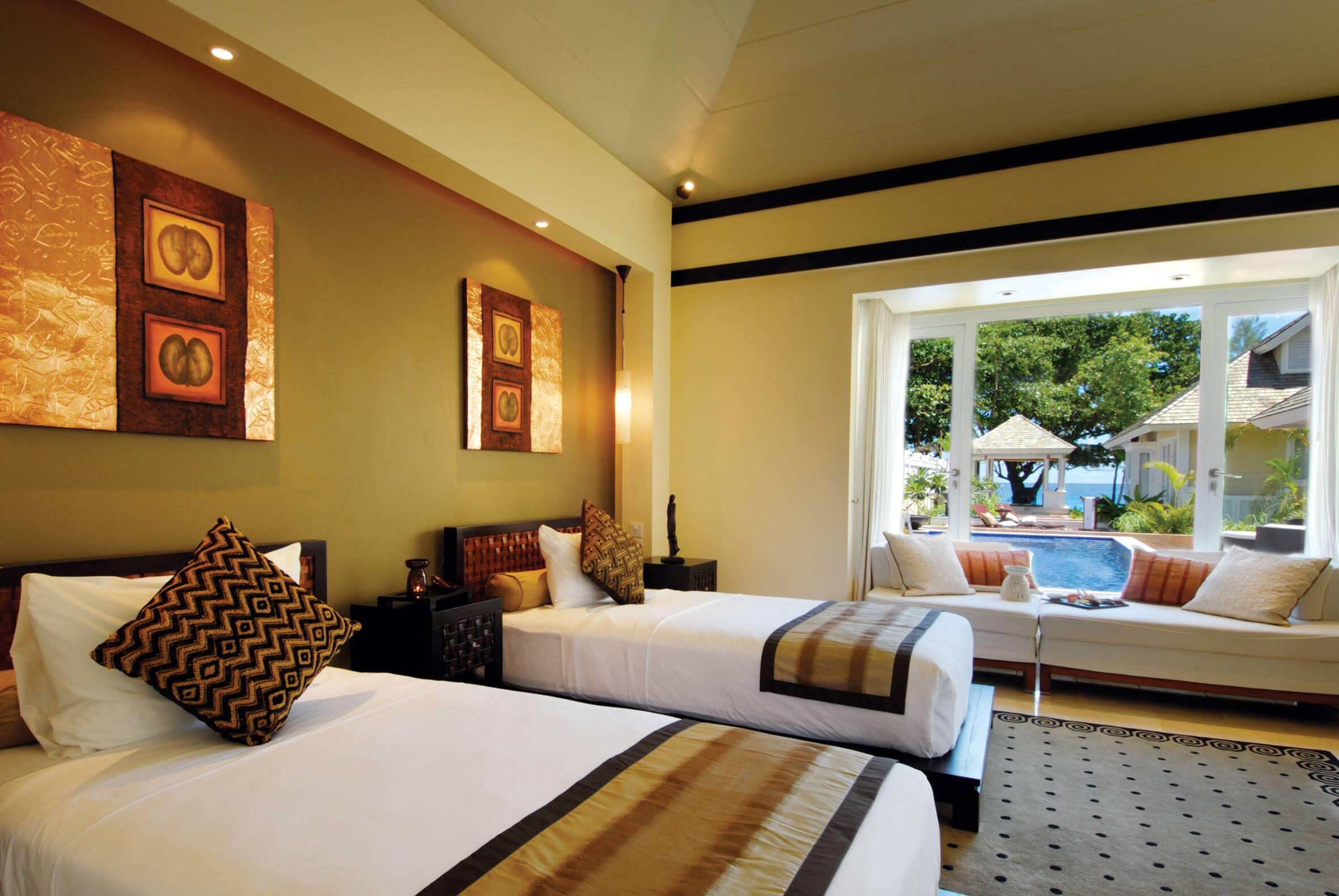 Banyan Tree Pool Villa Chambre Double Seychelles
