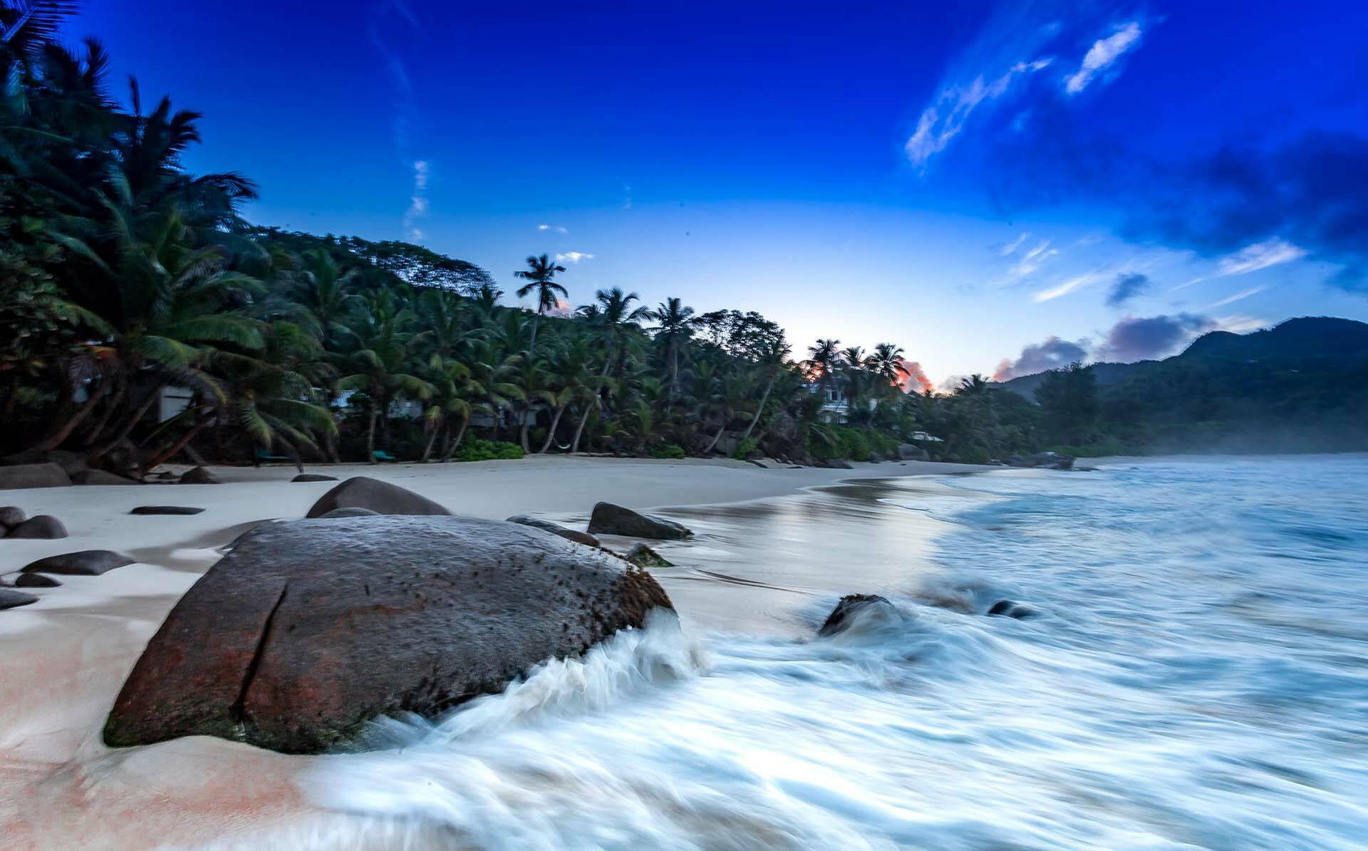 Banyan Tree Seychelles plage