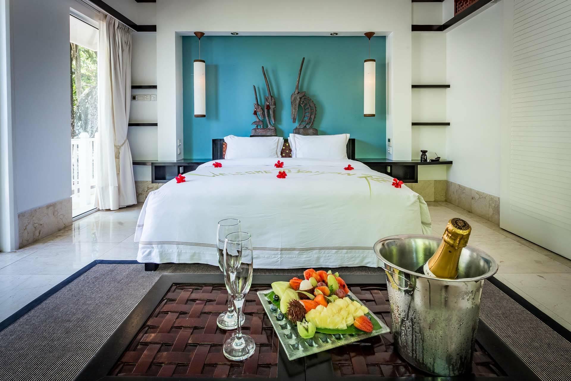 Banyan Tree Seychelles romantic room