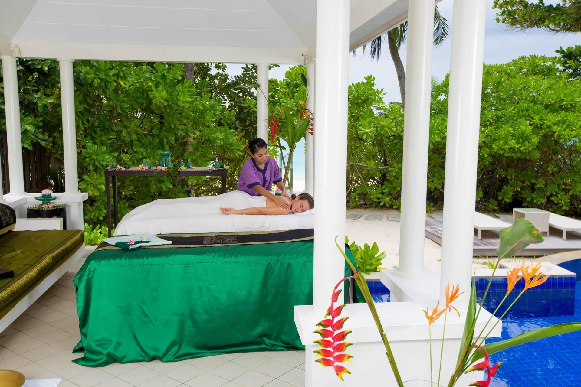 Banyan Tree Seychelles spa