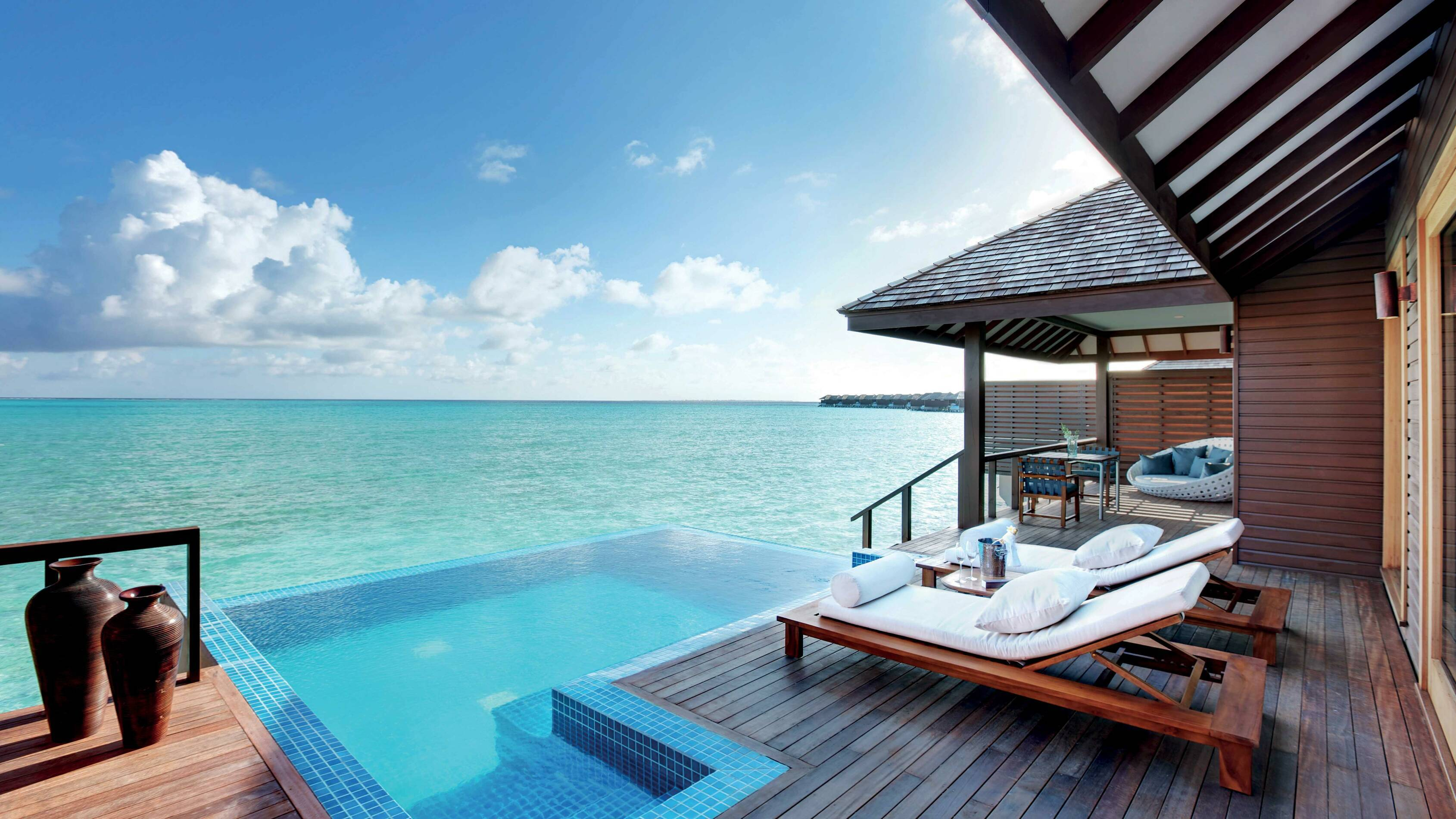 Hideaway Beach Deluxe Water Villa With Pool Seaview Maldives