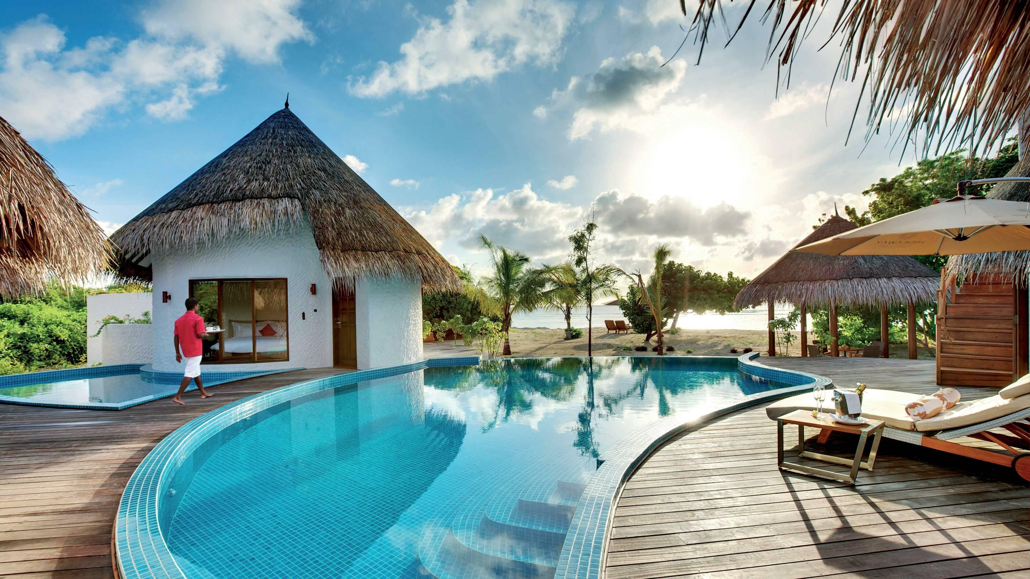 Hideaway Beach Palace Piscine Maldives