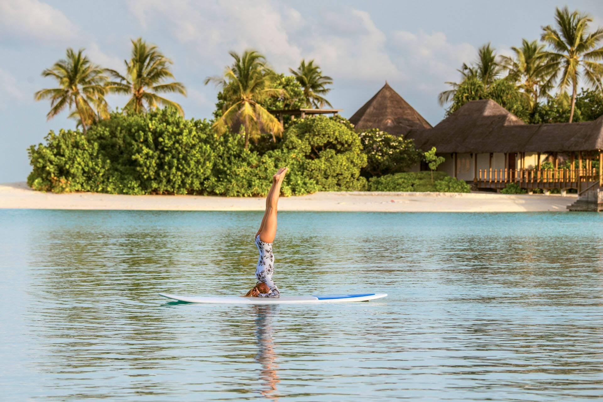 Four Seasons Kuda Huraa Maldives Paddle