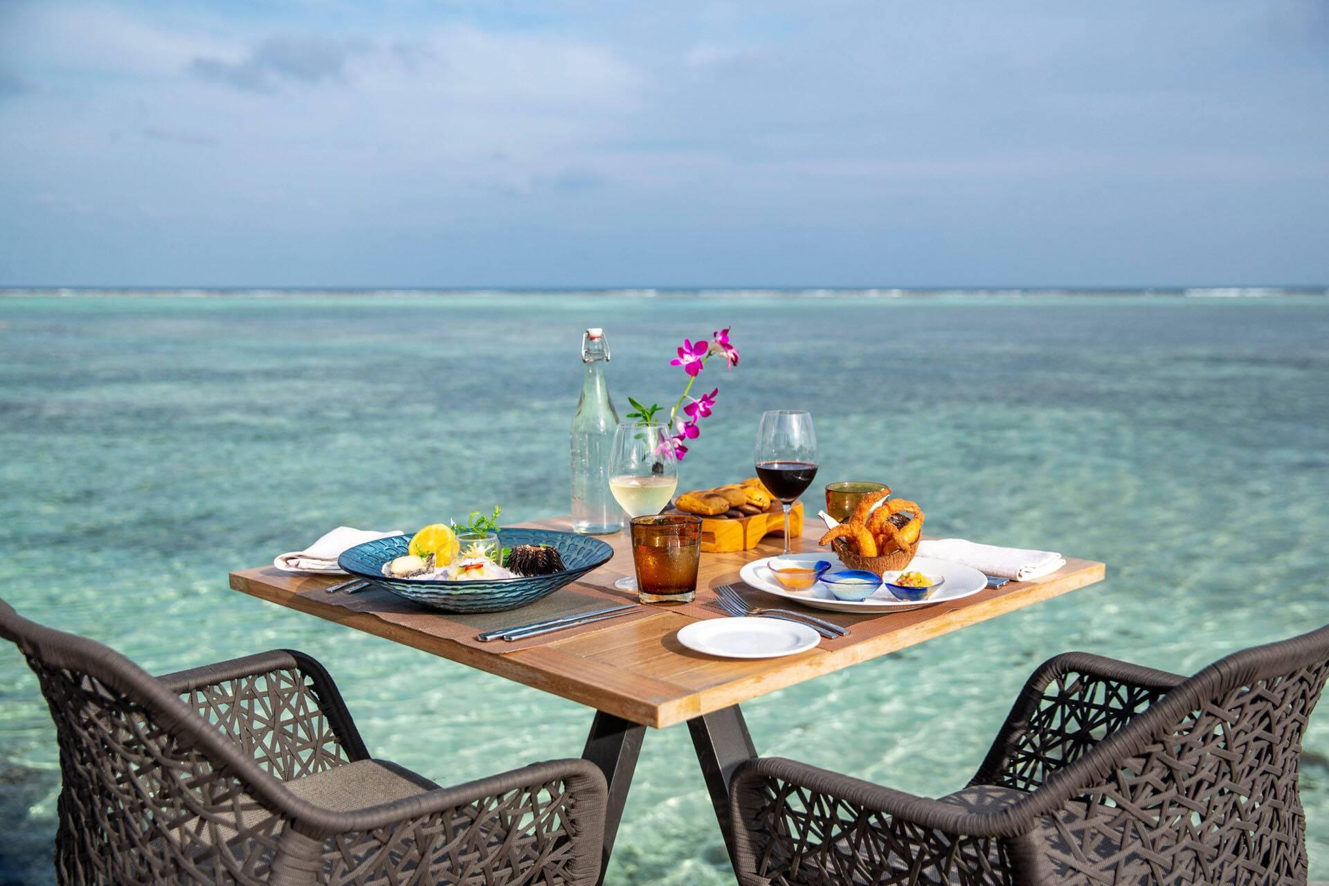 Four Seasons Kuda Huraa Maldives Petit Dejeuner