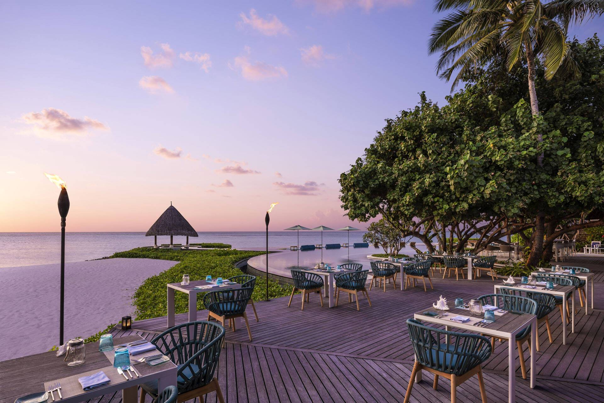 Four Seasons Kuda Huraa Maldives Restaurant