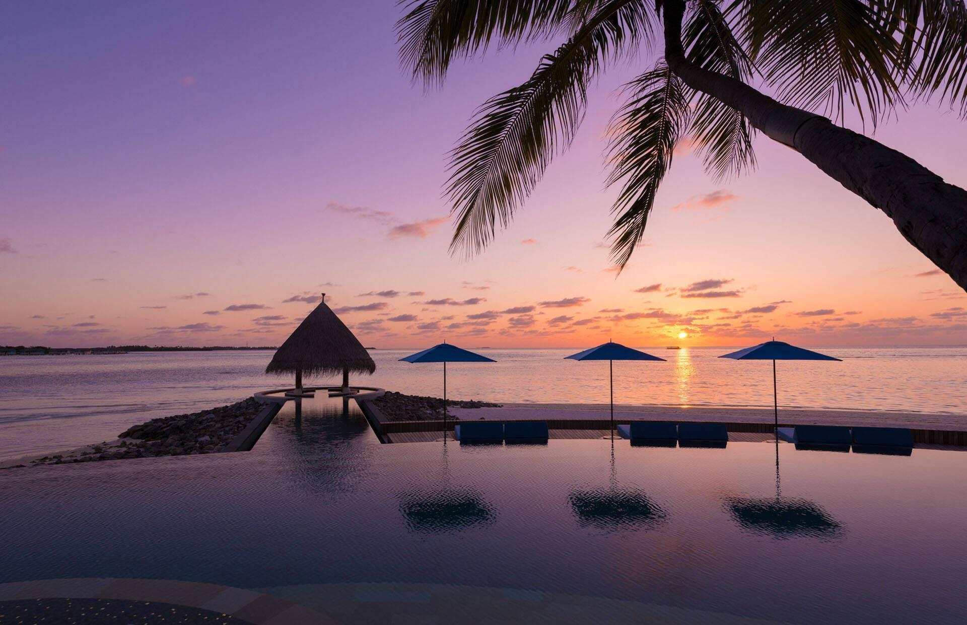 Four Seasons Kuda Huraa Maldives Vue Piscine