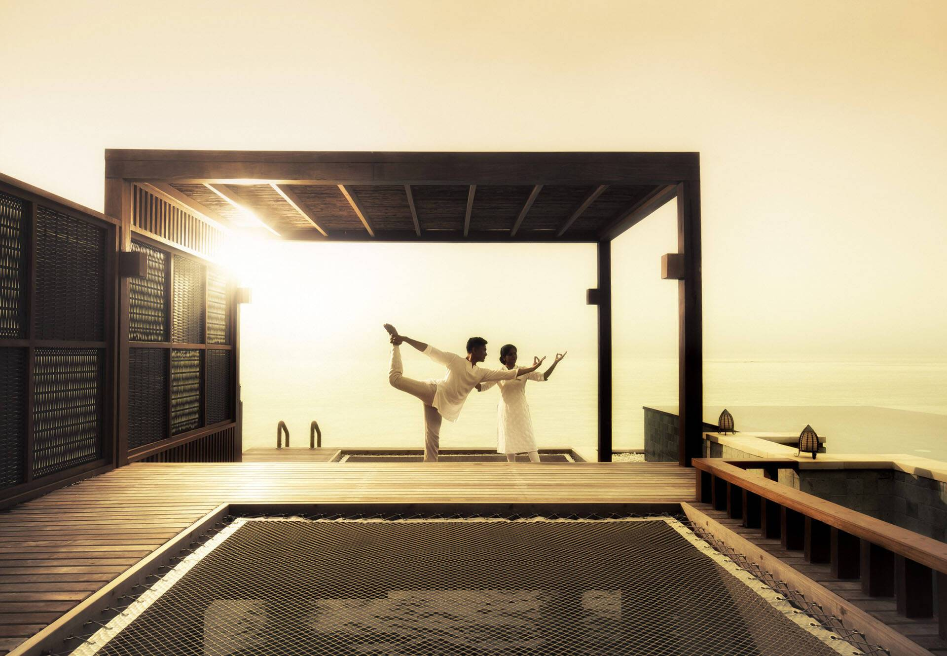 Four Seasons Kuda Huraa Maldives Yoga