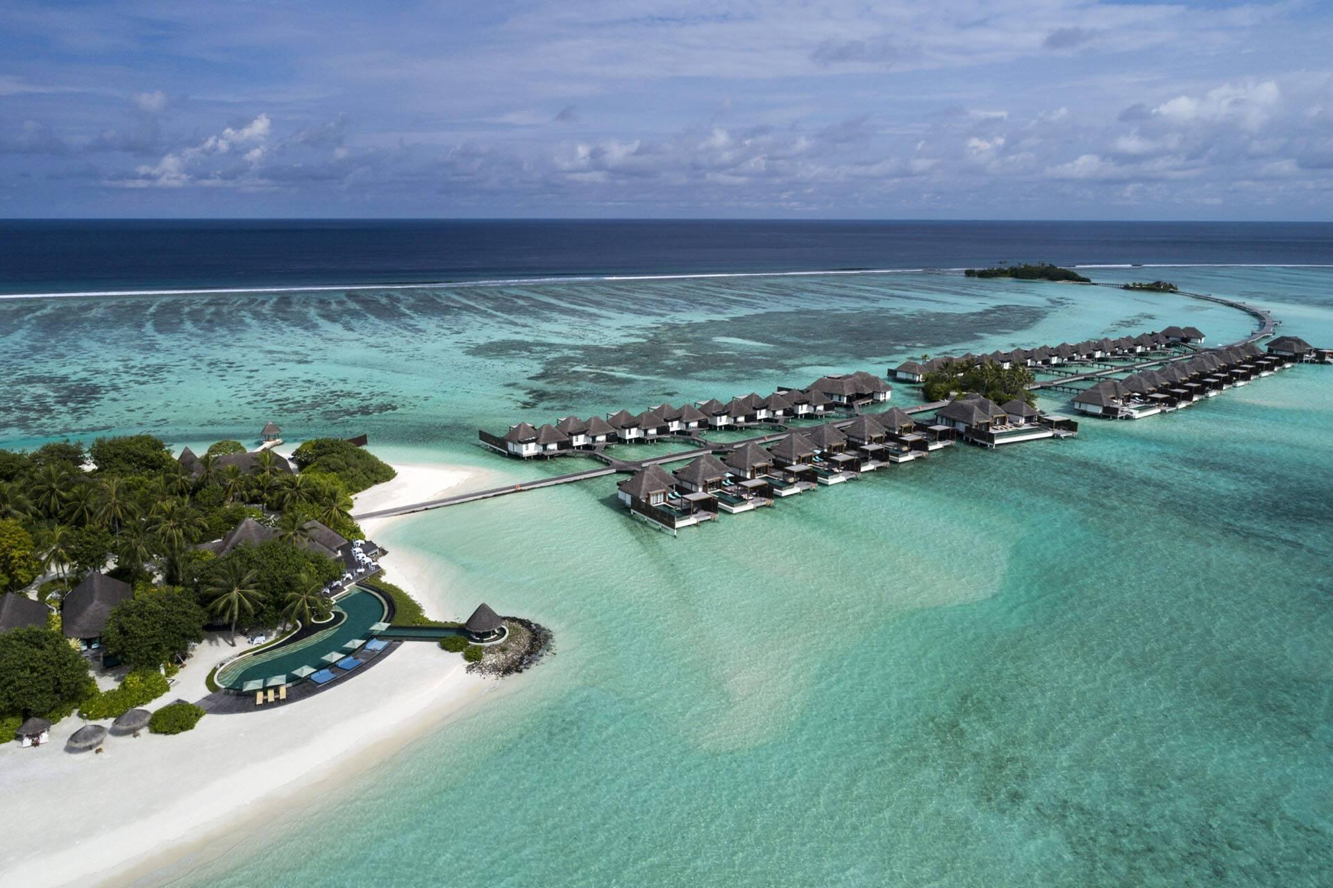 Four Seasons Kuda Huraa Maldives ile