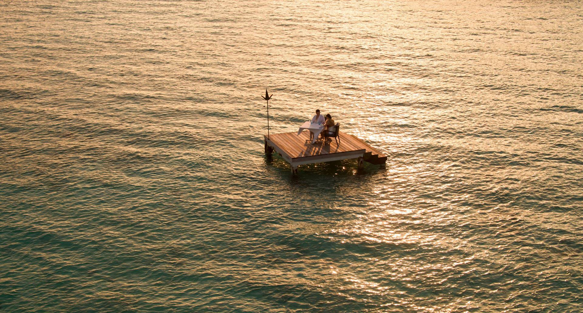 Four Seasons Landaa Giraavaru Maldives Diner