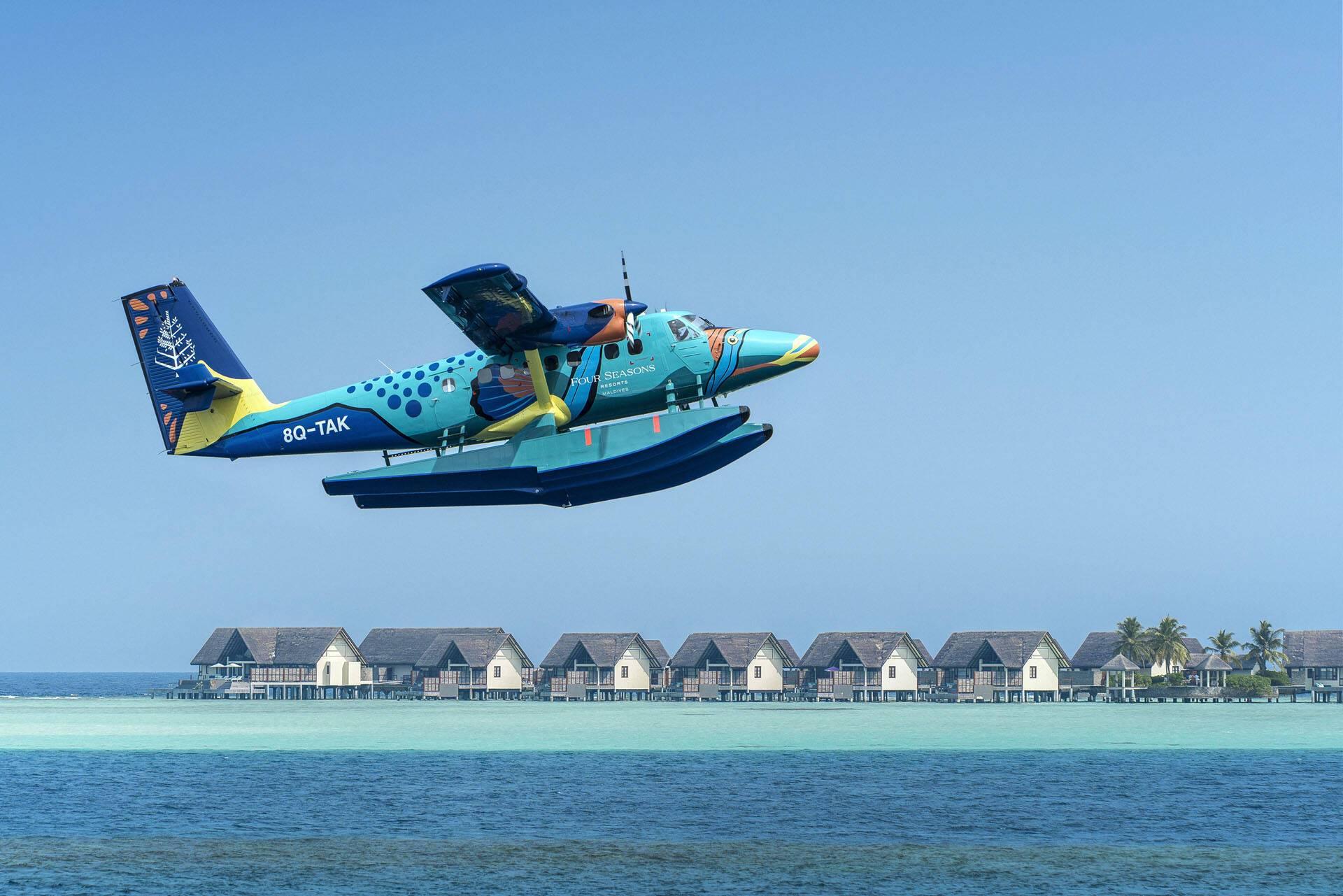 Four Seasons Landaa Giraavaru Maldives Hydravion