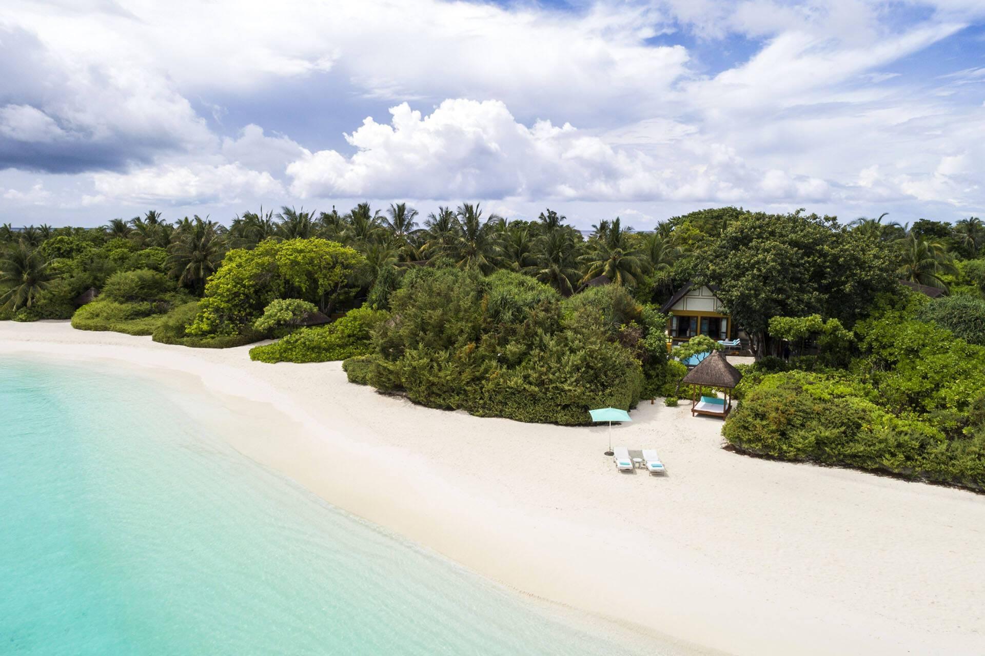 Four Seasons Landaa Giraavaru Maldives Villas Acces Plage