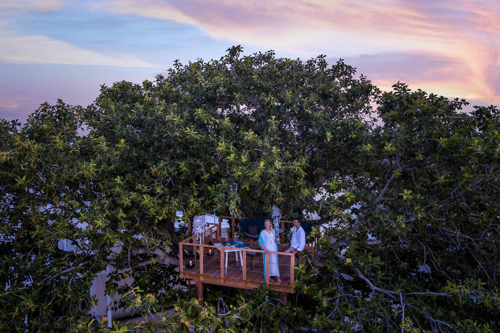 Four Seasons Landaa Giraavaru Maldives diner Prive