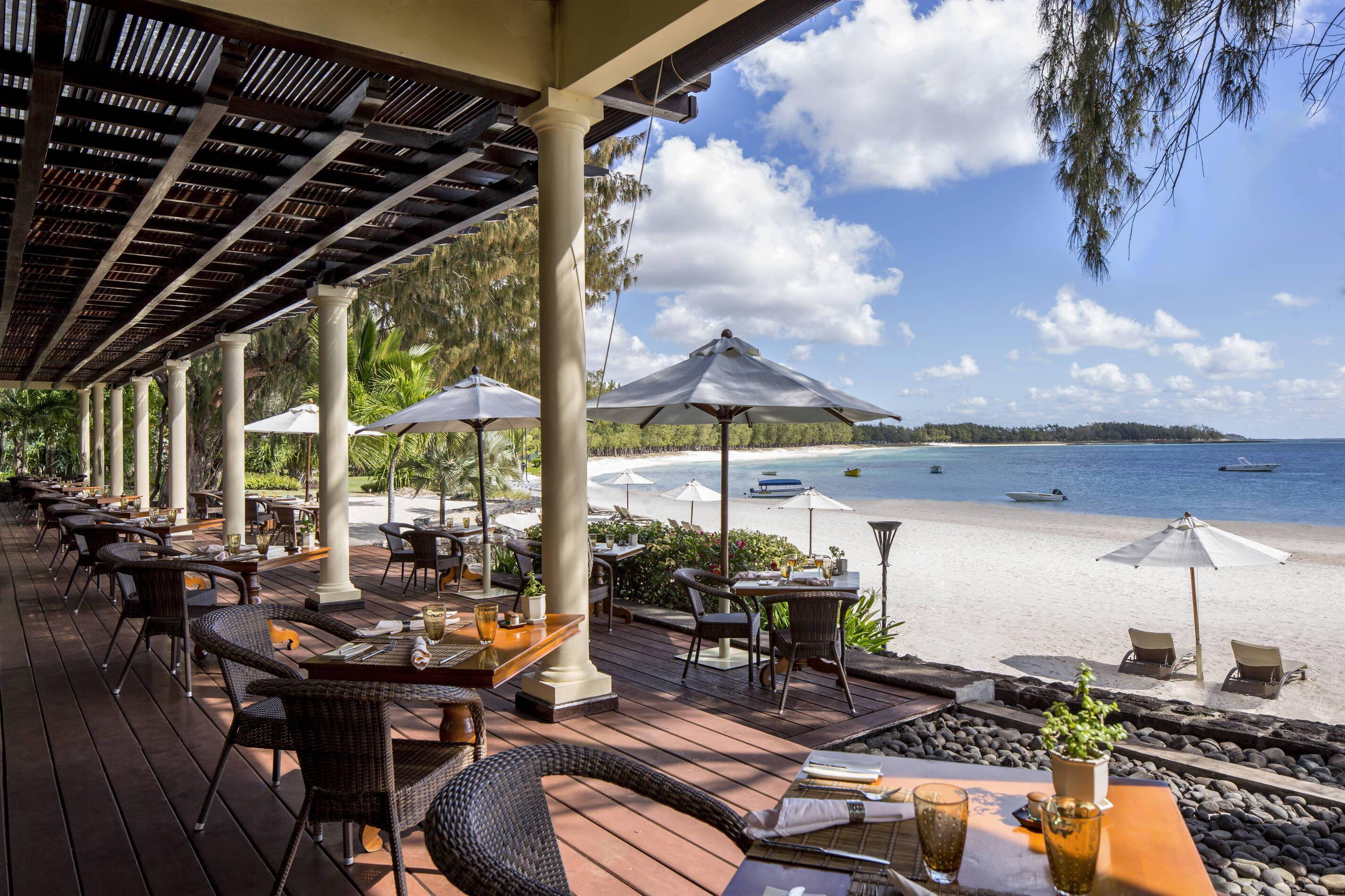 The Residence Mauritius Restaurant Maurice