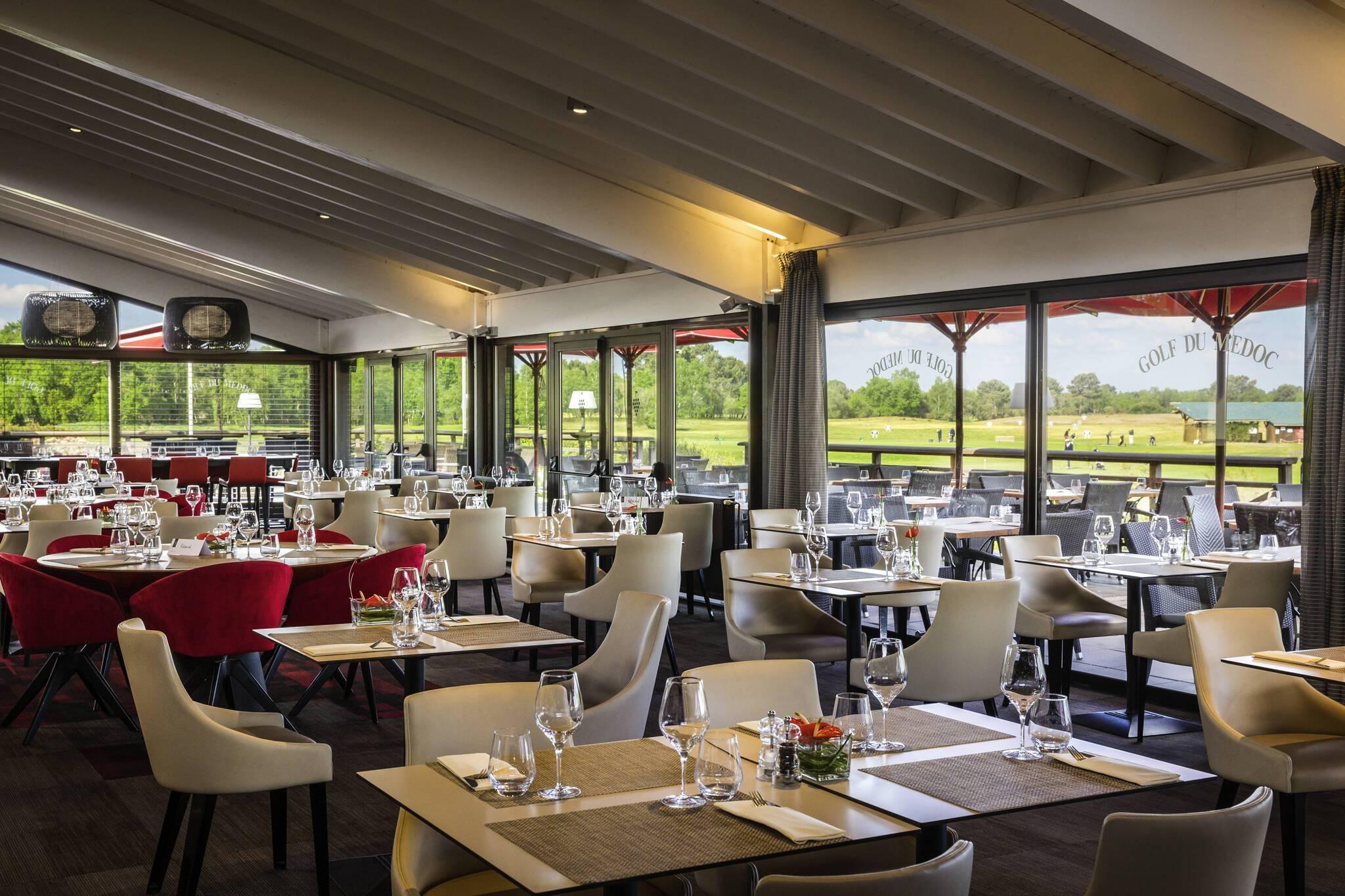 Golf Du Medoc Resort Restaurant Sud Ouest