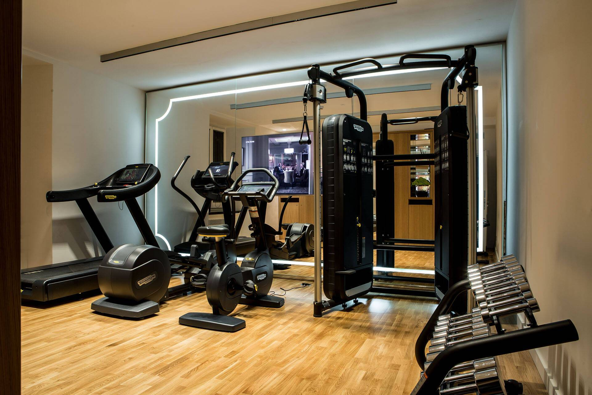 Sofitel Villa Borghese Rome Fitness Center
