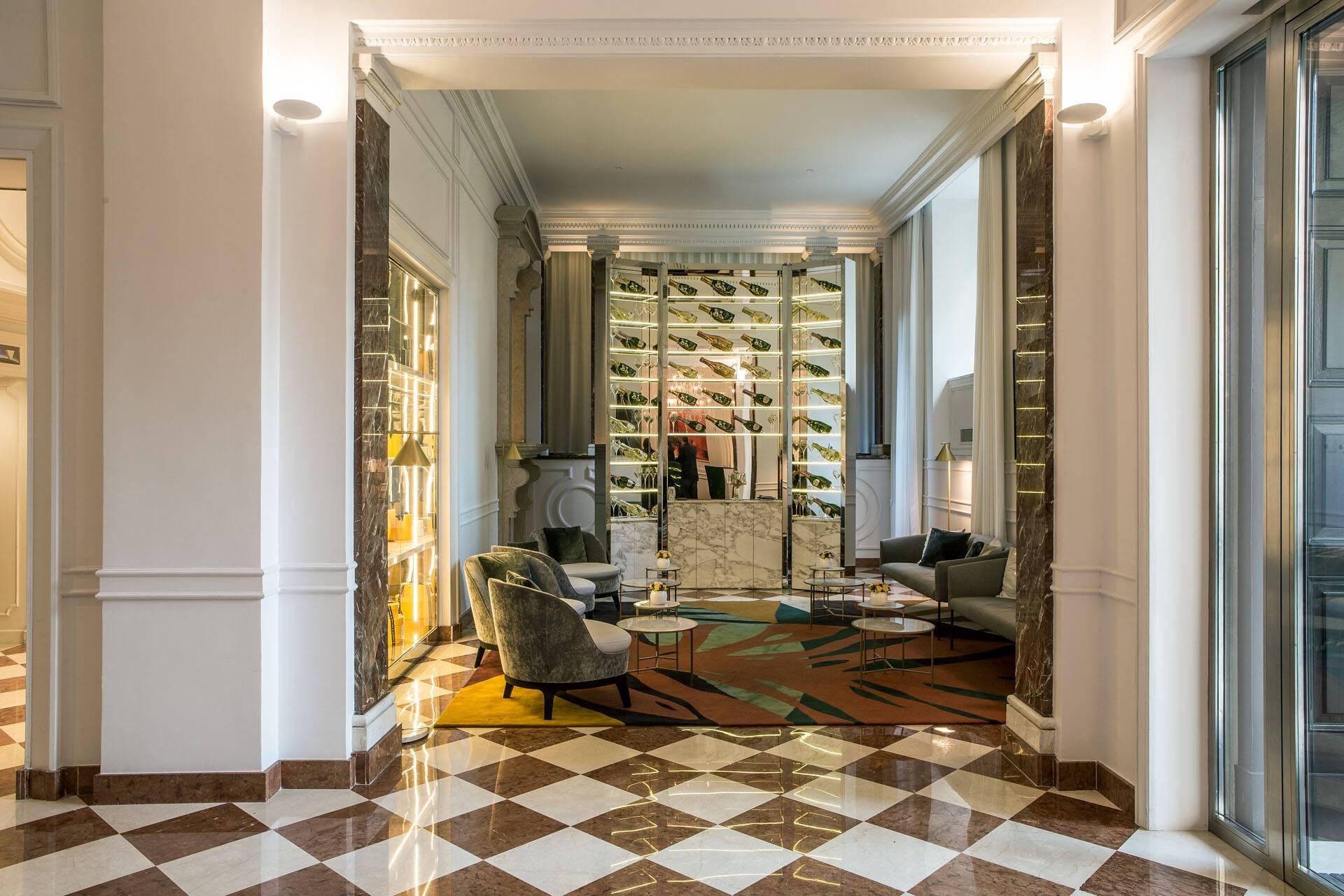 Sofitel Villa Borghese Rome Lobby