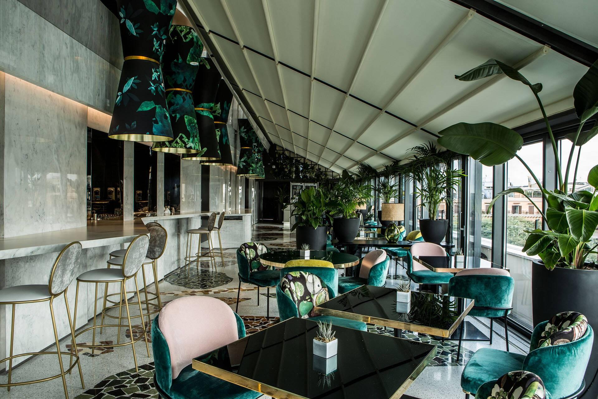 Sofitel Villa Borghese Rome Settimo Restaurant