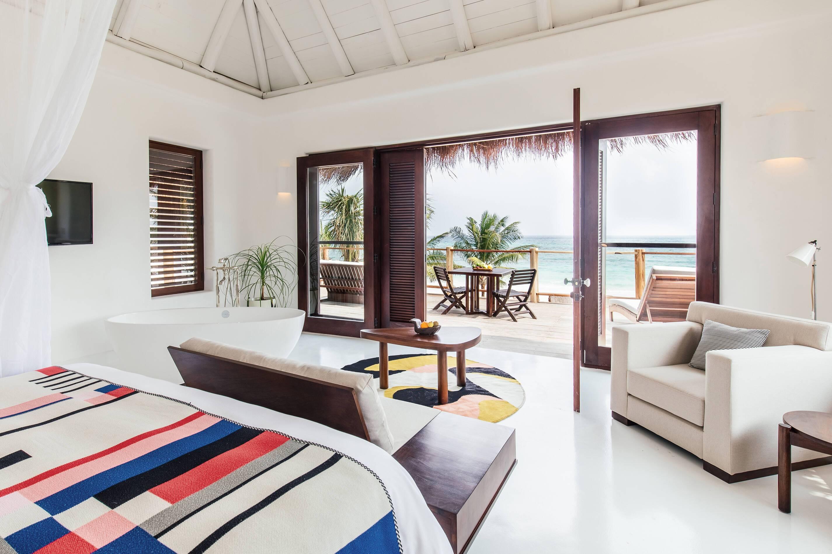 Esencia Mexique Beach Suite Interieur