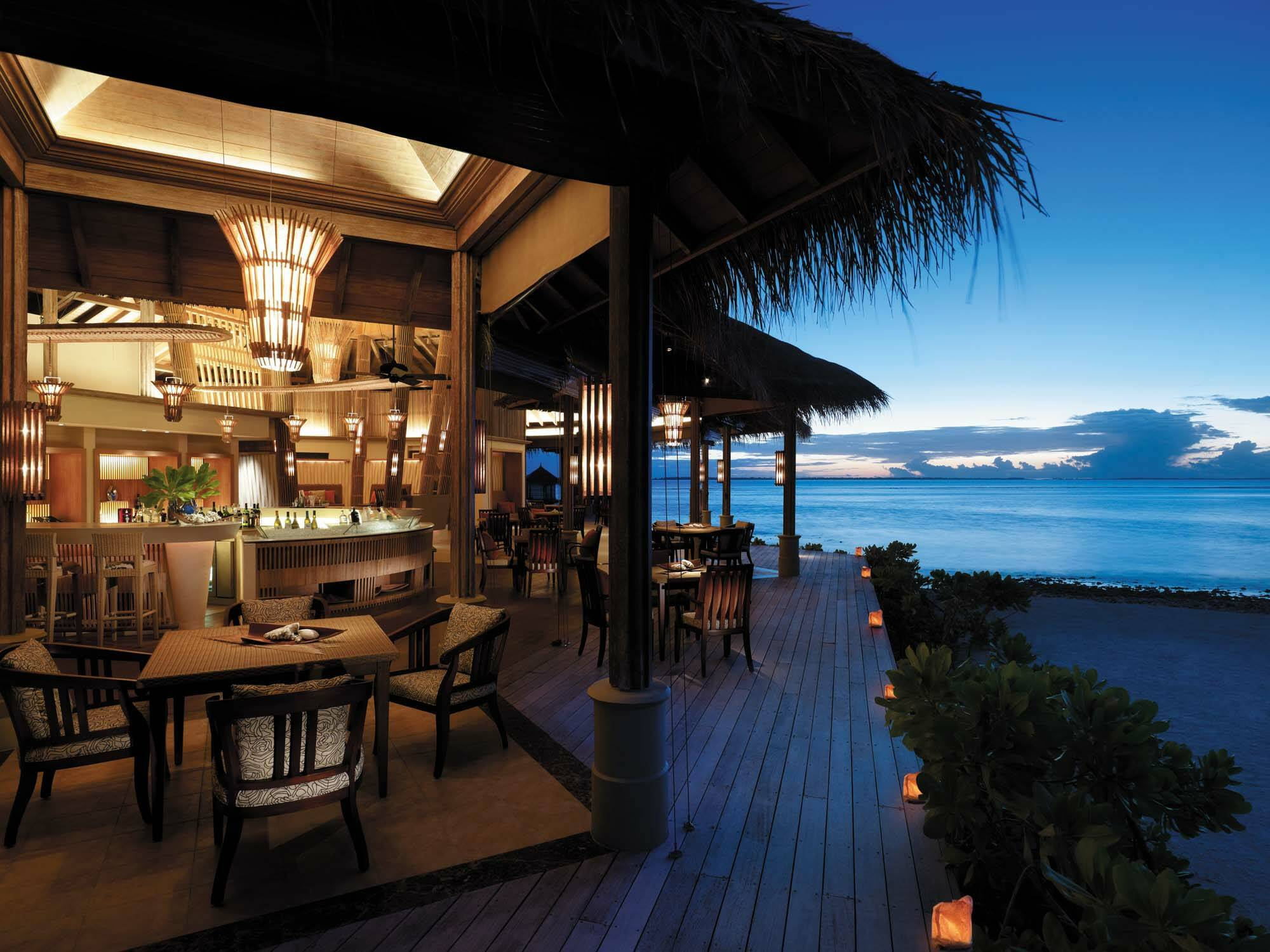 Shangri La Villingili Restaurant Fashala Maldives