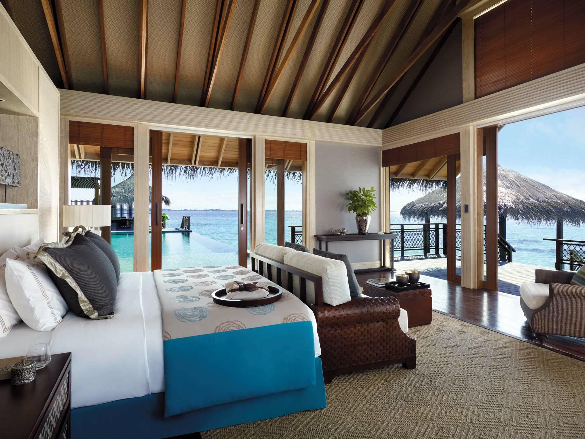 Shangri La Villingili Villa Muthee Chambre Maldives