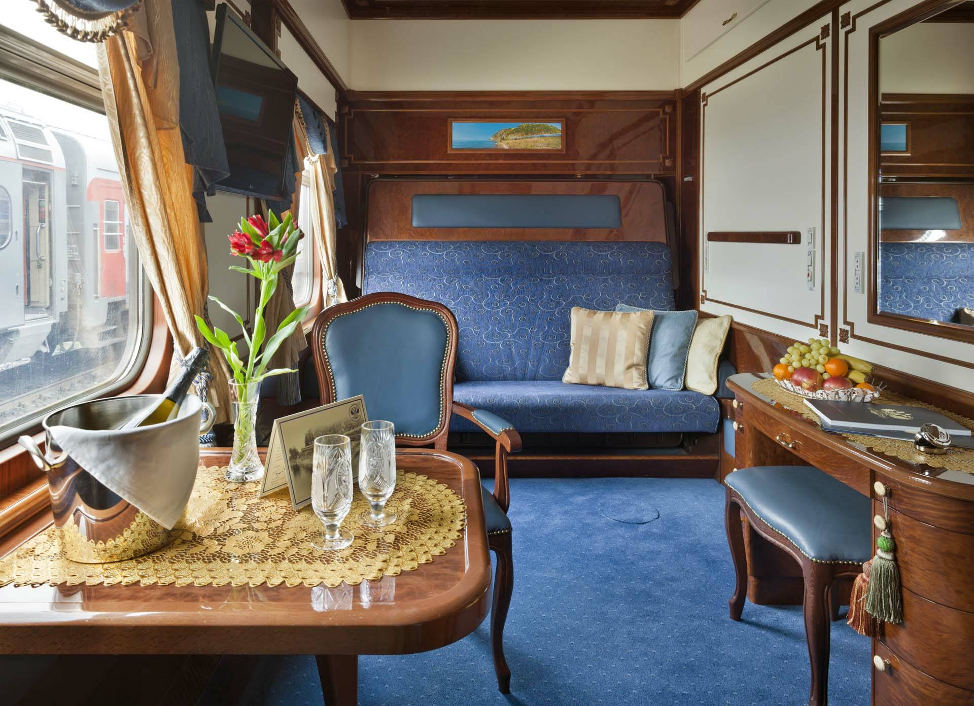 Transsiberien Golden Eagle Train Imperial Suite