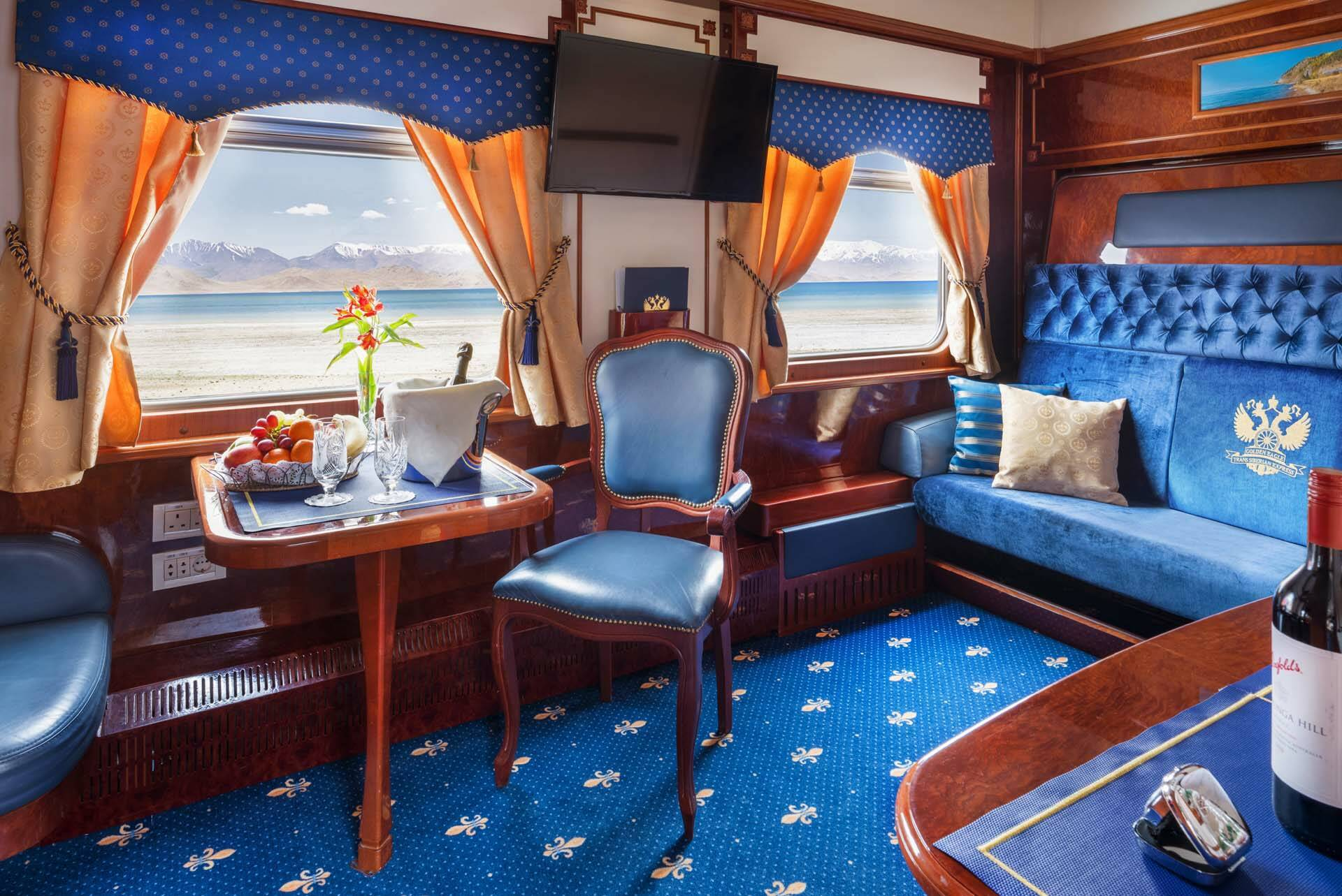 Transsiberien Golden Eagle Train ImperialSuite
