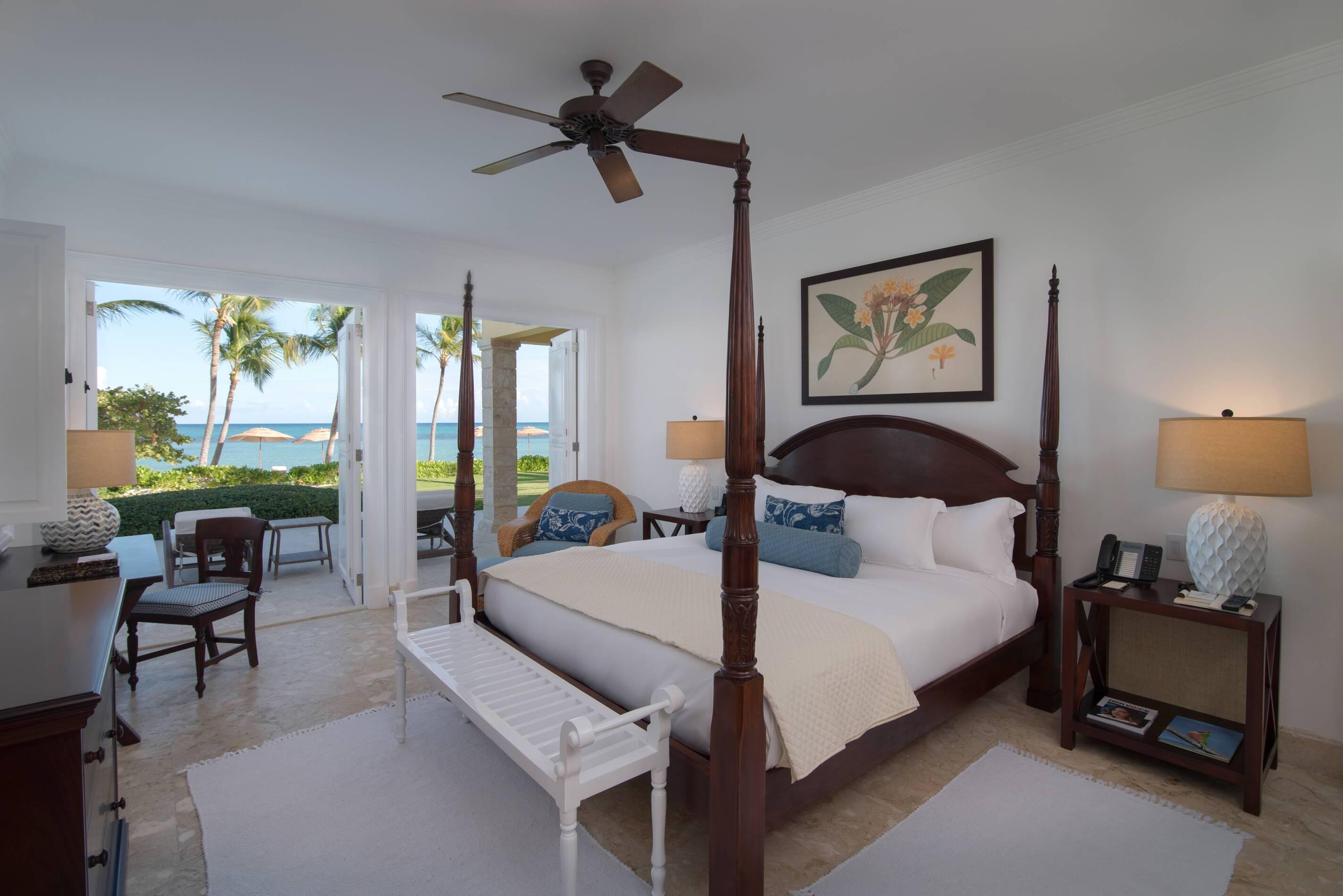 Tortuga Bay Ocean Front King Size Bed Punta Cana