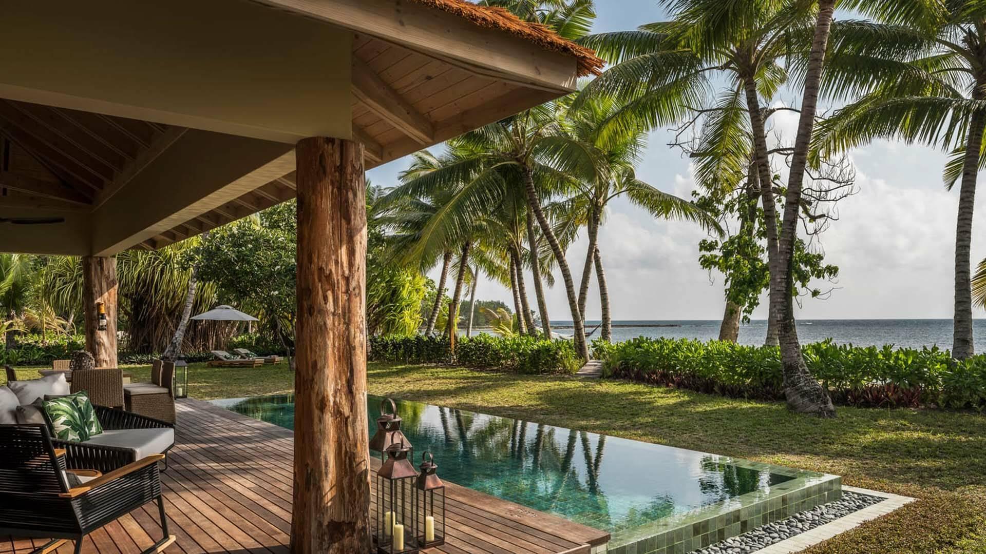 Four Seasons Desroches pool villa