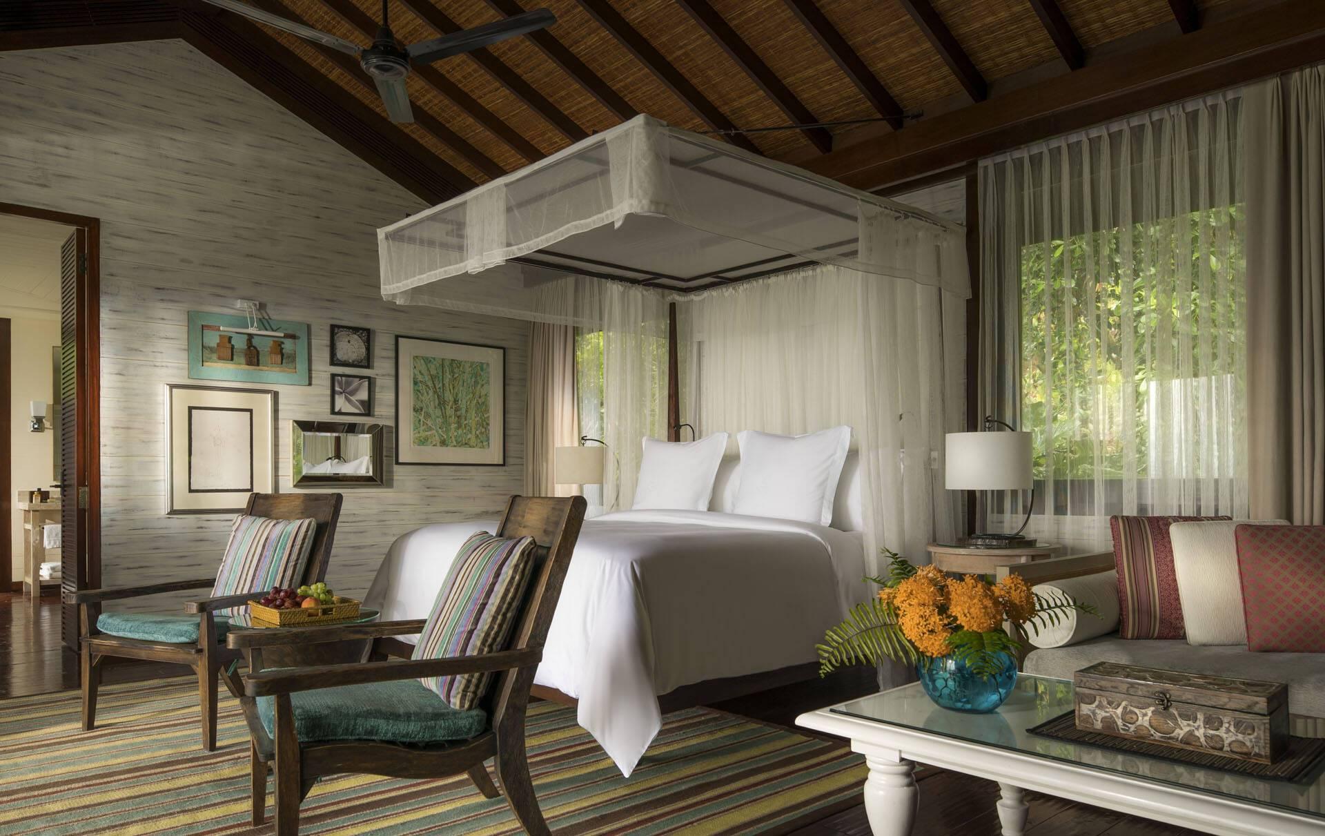 Four Seasons Seychelles Residence Villa ChambreJPG