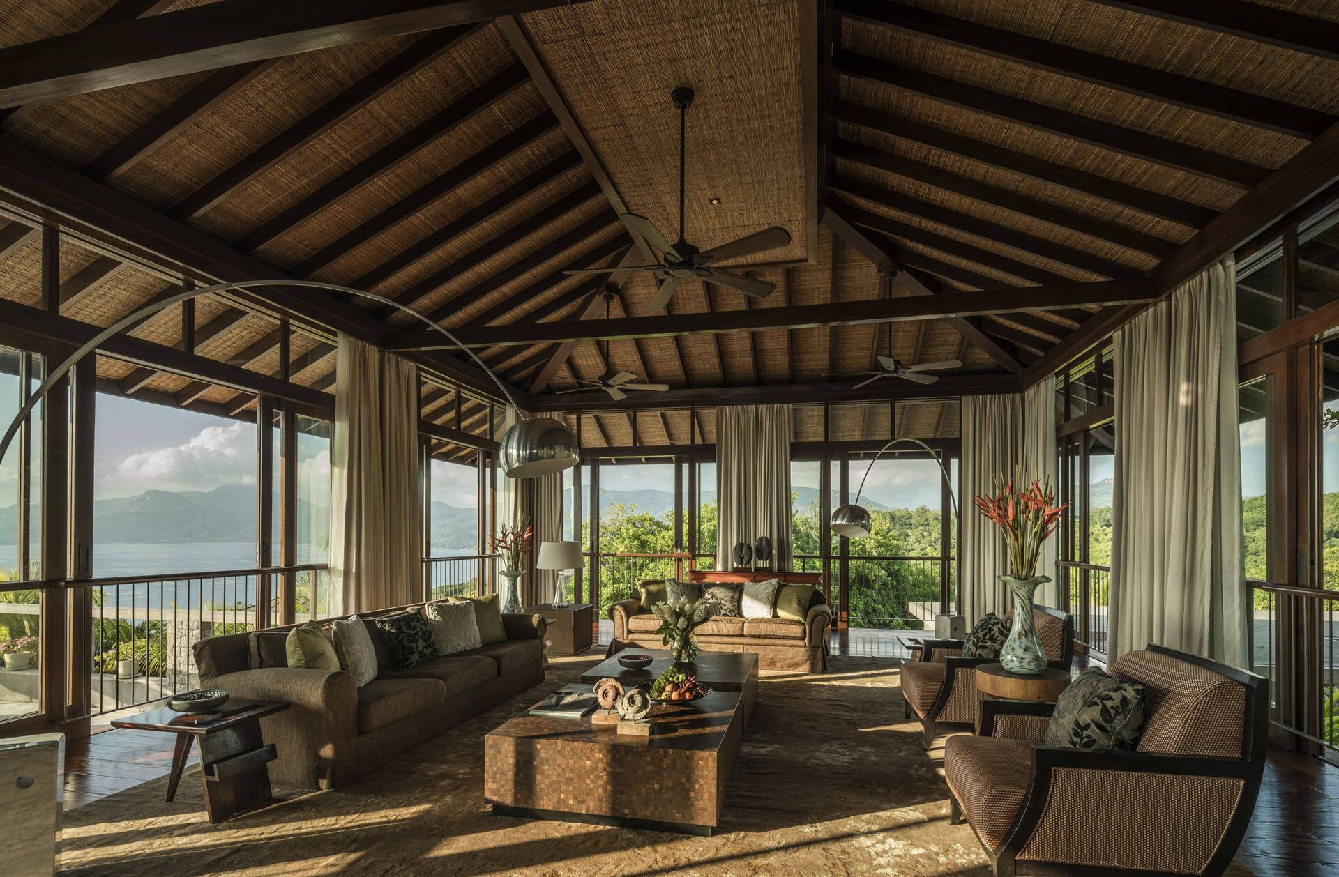 Four Seasons Seychelles Residencia Villa SalonJPG