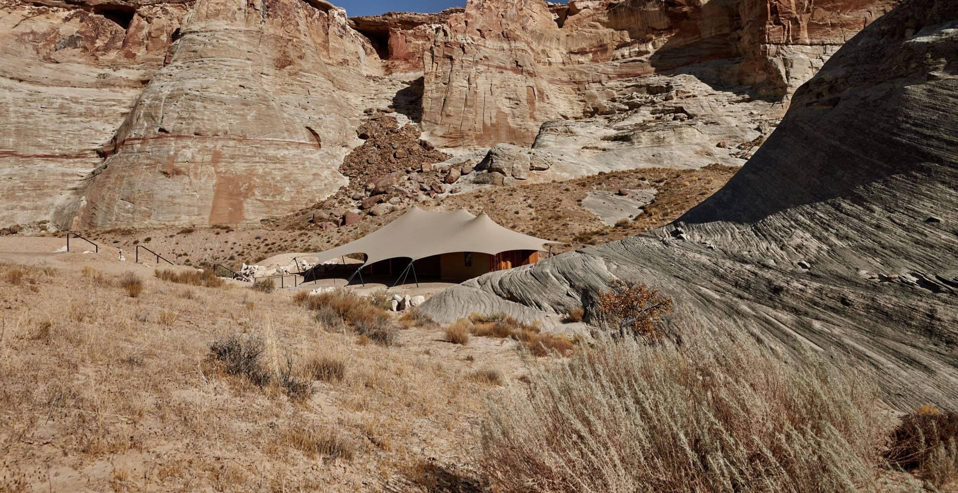 Amangiri Camp Sarika Tente
