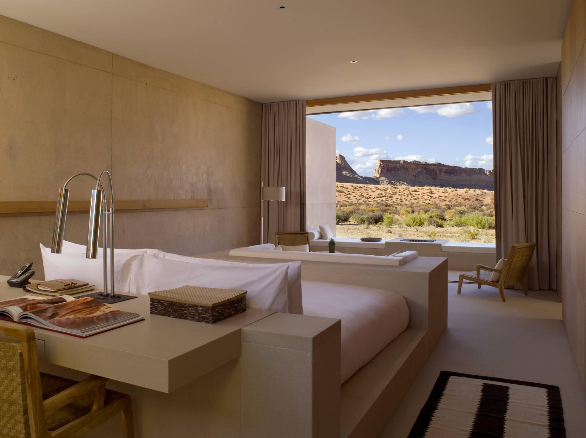 Amangiri Desert View Suite Chambre Etats Unis