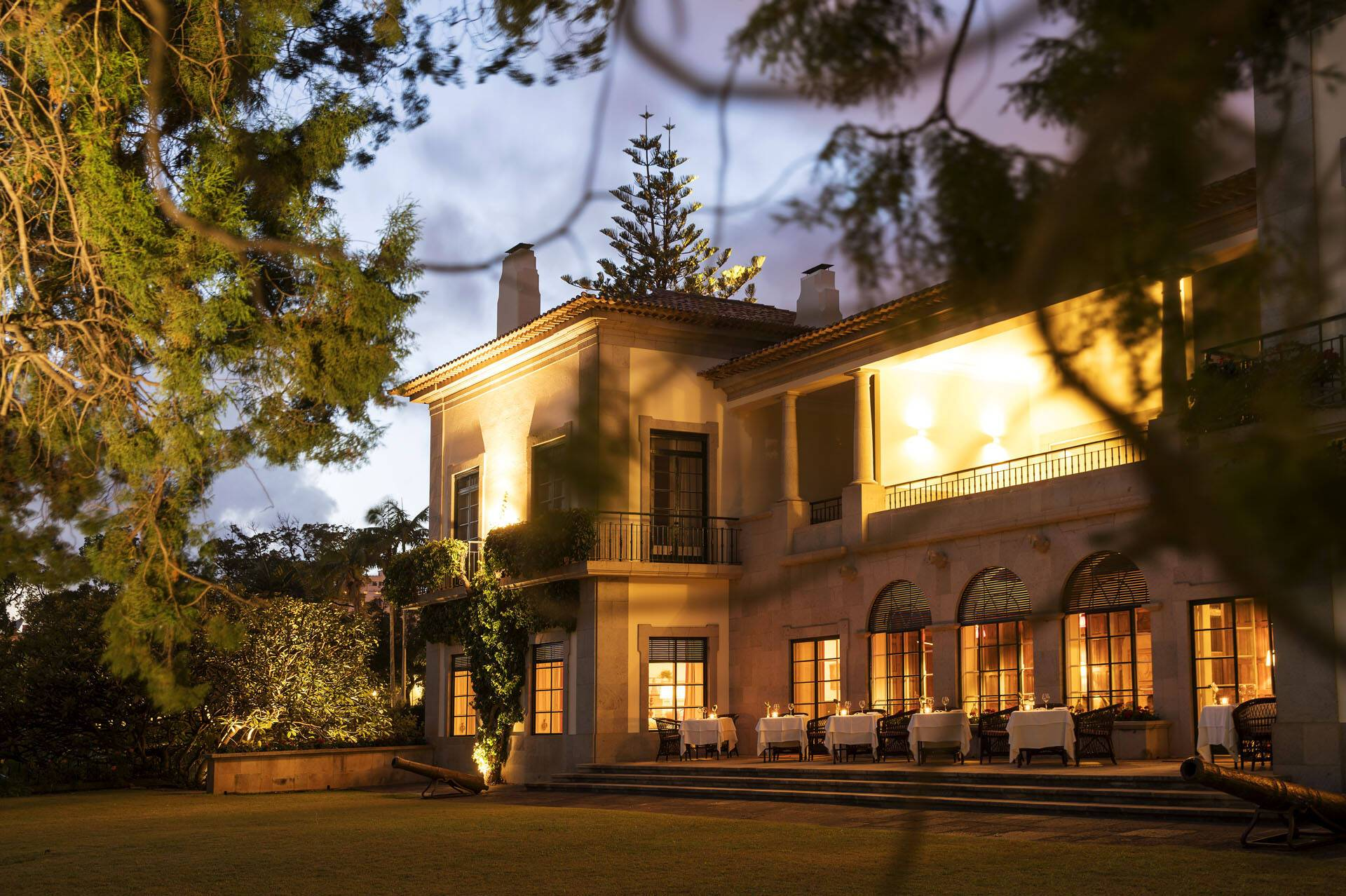 Estalagem Quinta Da Casa Branca Restaurant The Dining Room Terrasse Madere