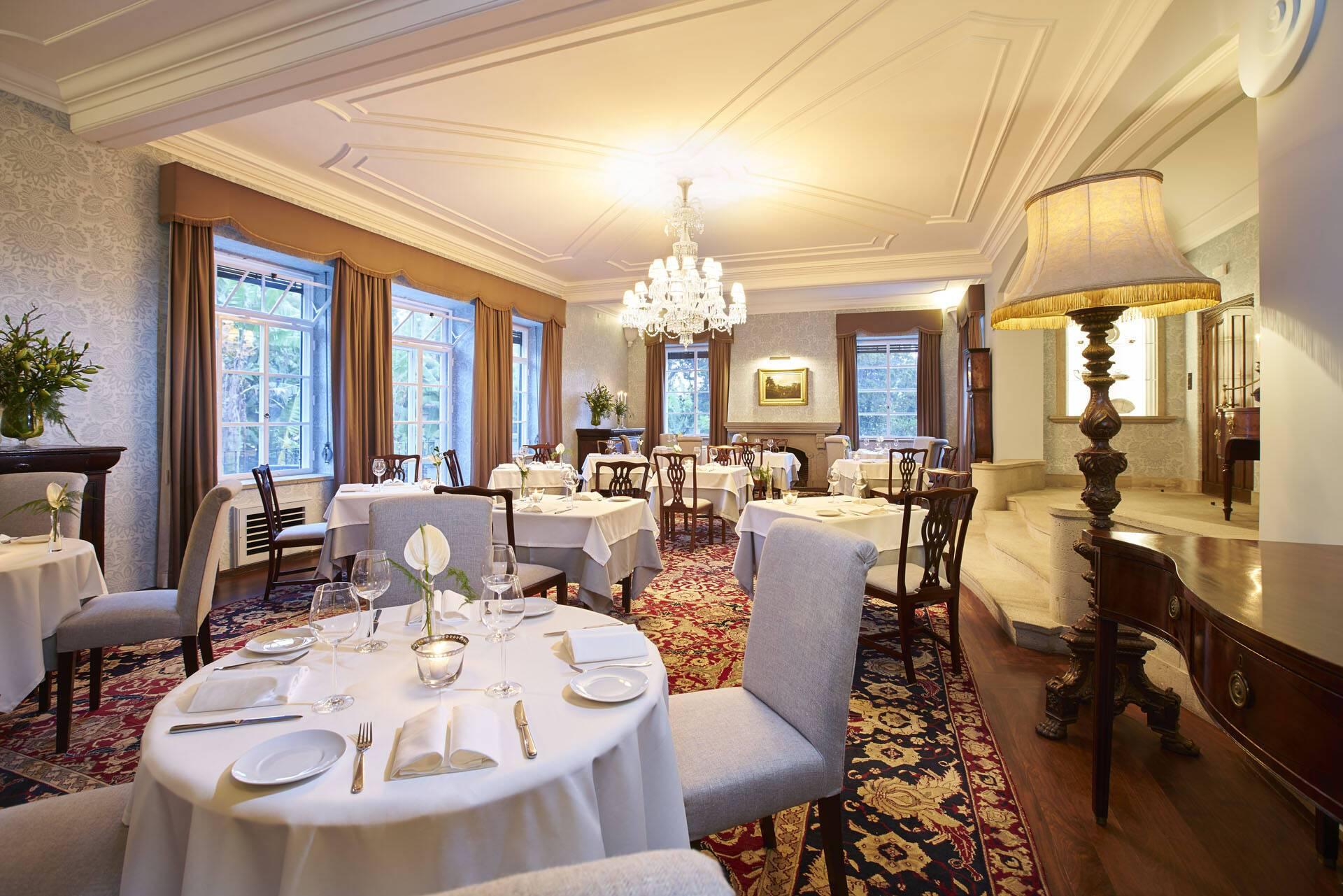 Estalagem Quinta DaCasa Branca Restaurant The Dining Room Madere