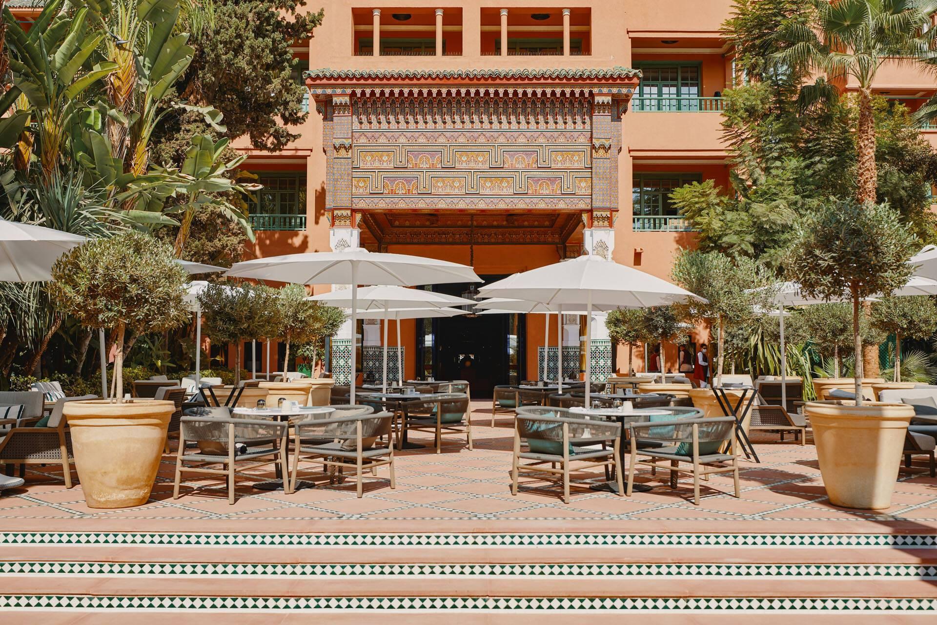 La Mamounia Marrakech Bar Italien