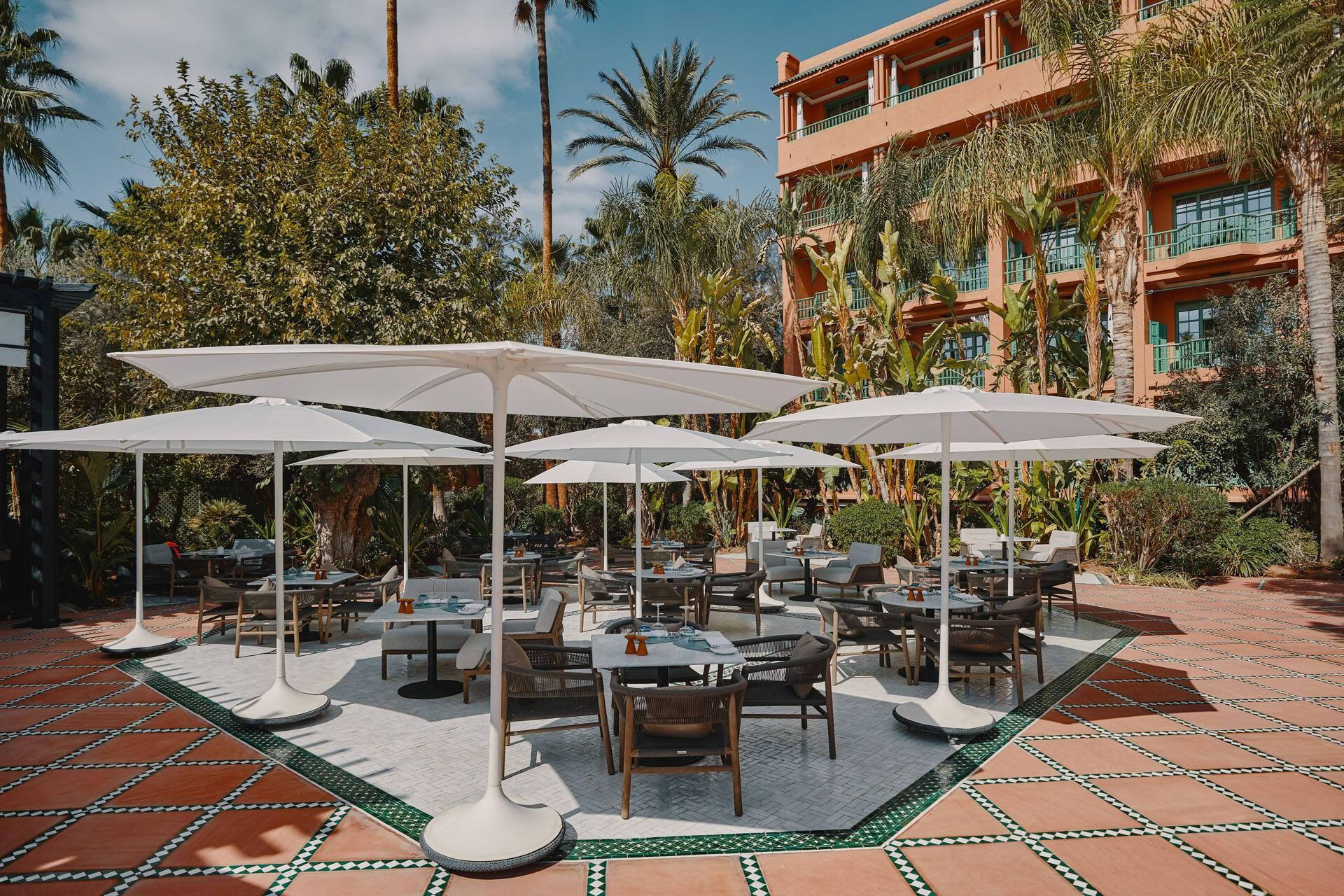 La Mamounia Marrakech Pavillon Piscine