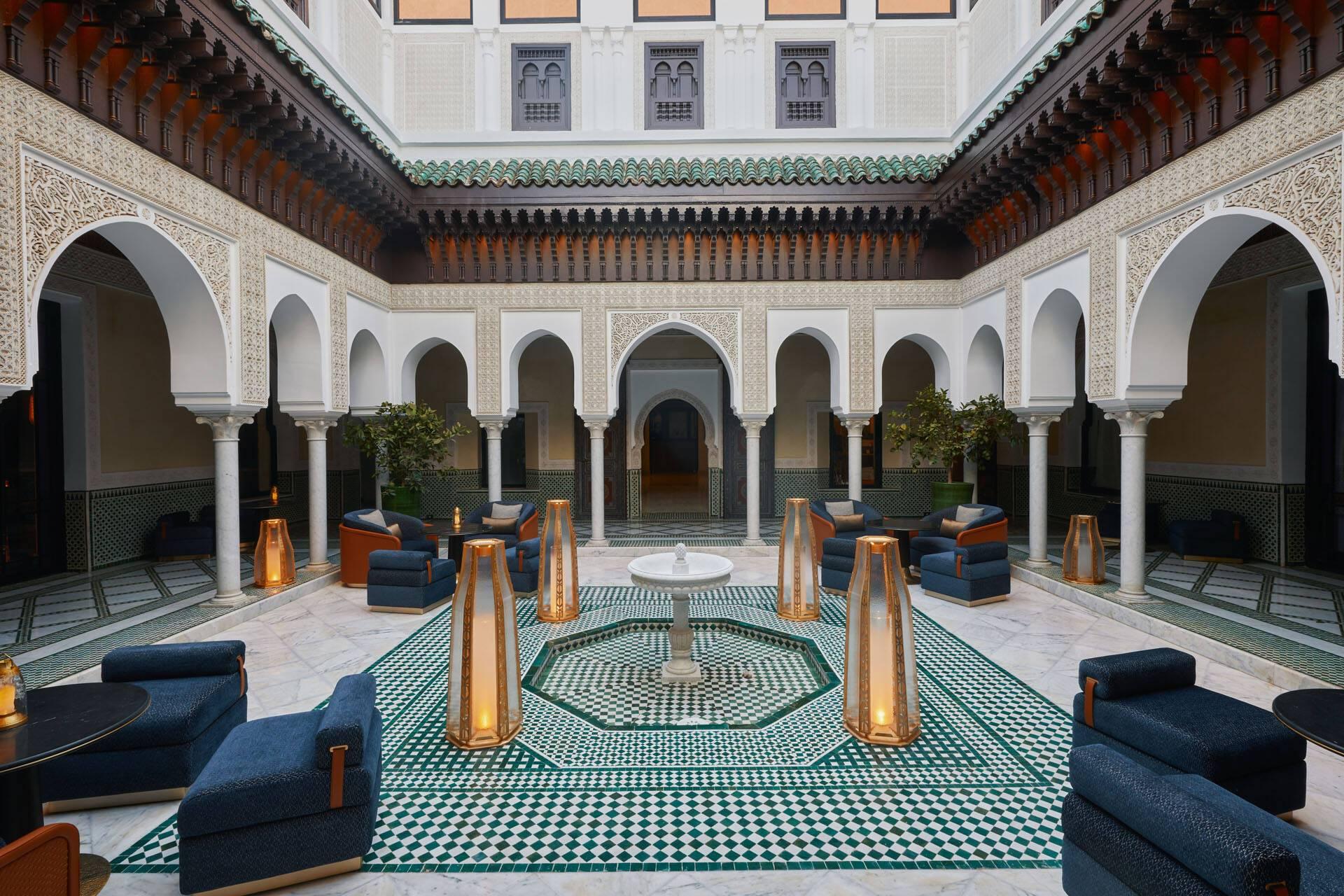 La Mamounia Marrakech Salon The Pierre Herme