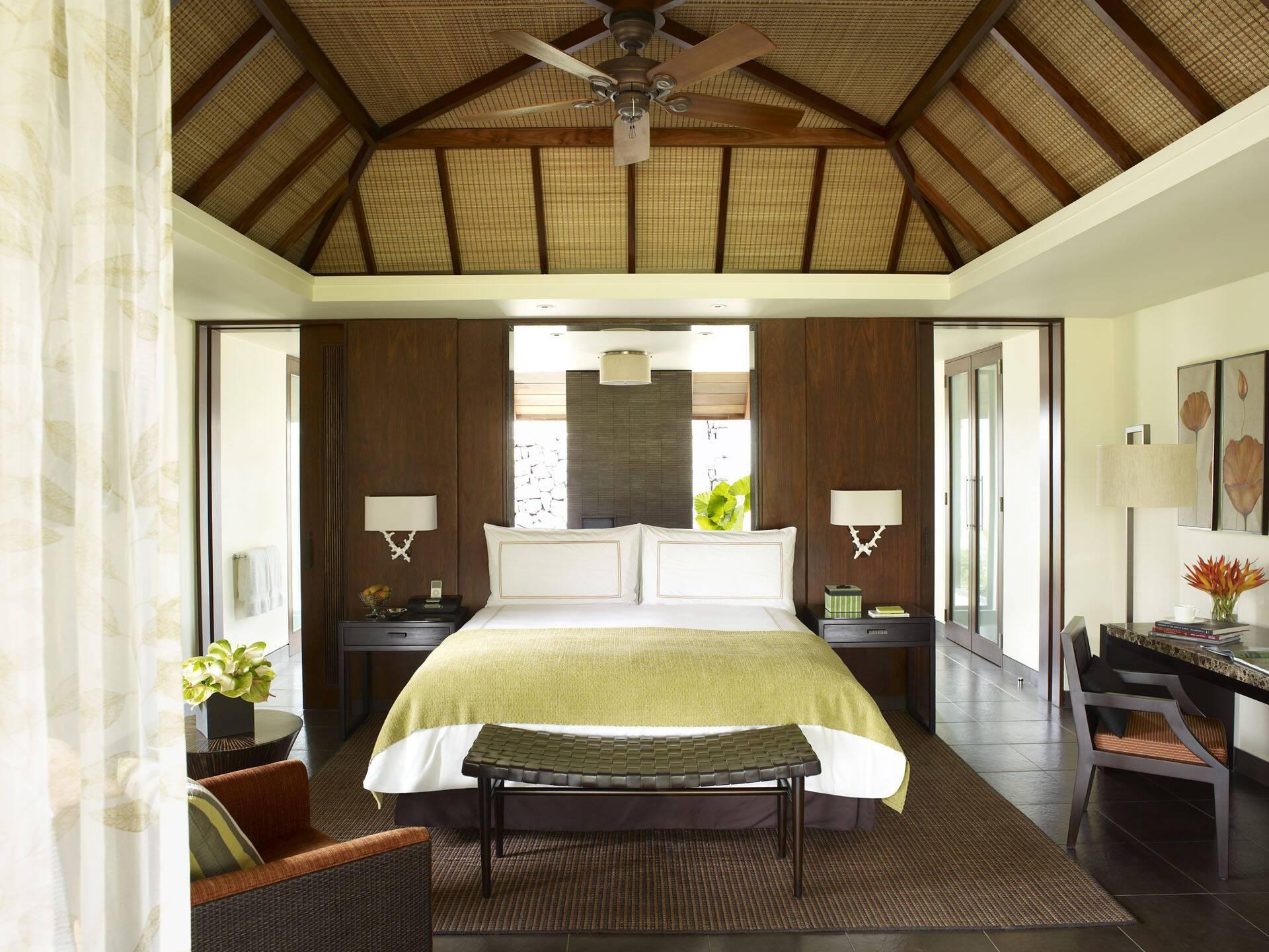 Four Seasons Maurice Anahita Villa Chambre