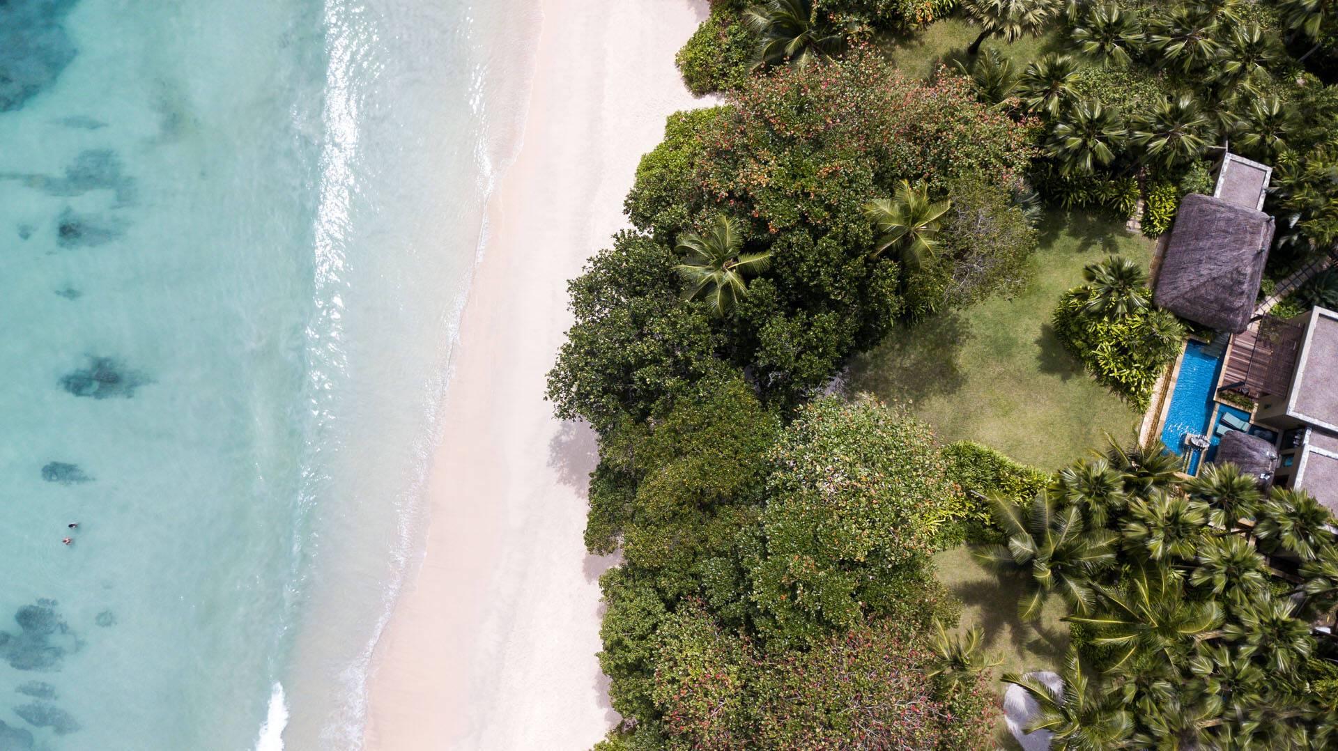 Anantara Maia Seychelles Villa Premier Beach Pool Vue