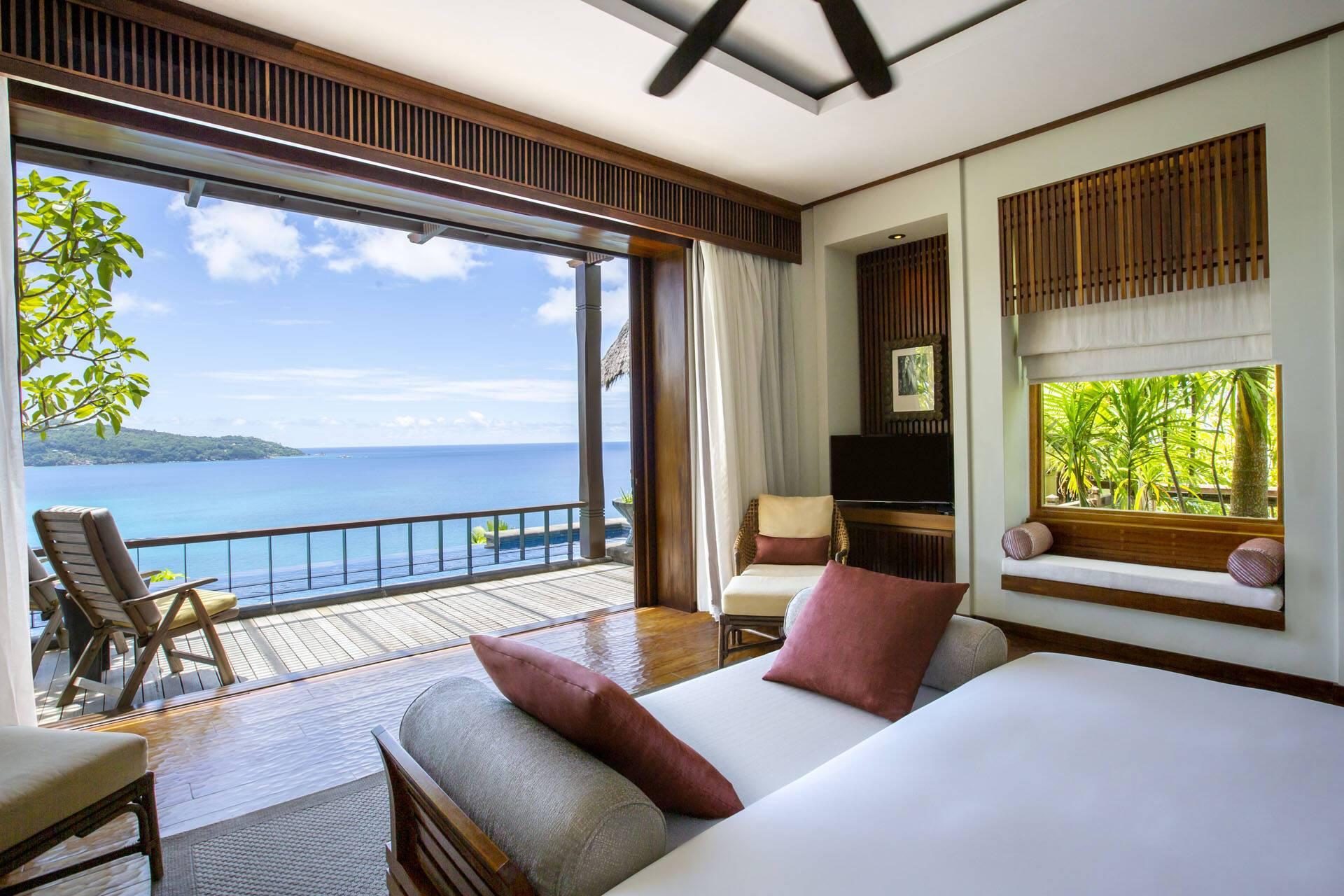 Anantara Maia Seychelles Villa Premier Ocean View Pool Vue