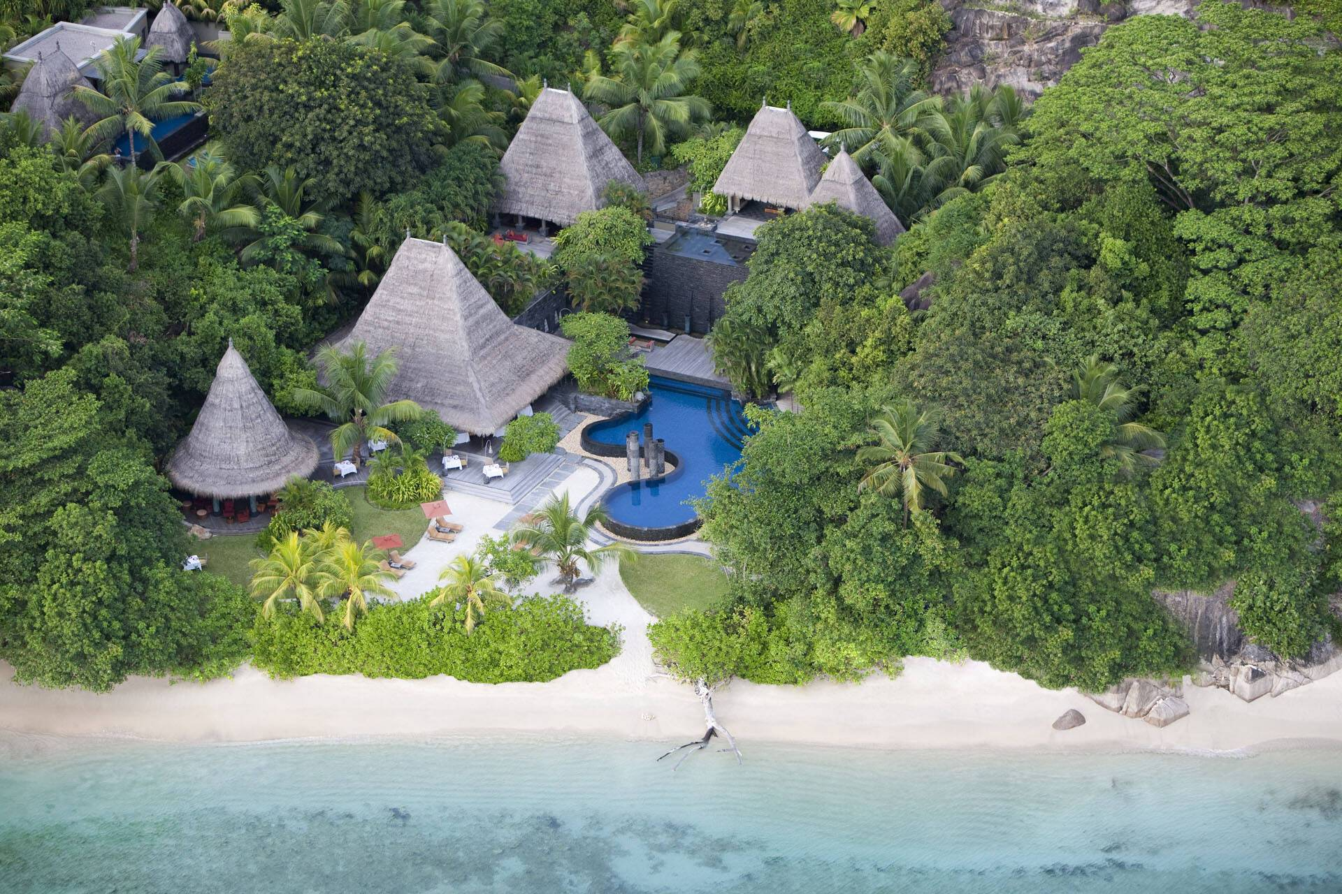 Anantara Maia Seychelles Villa Tec Tec Restaurant