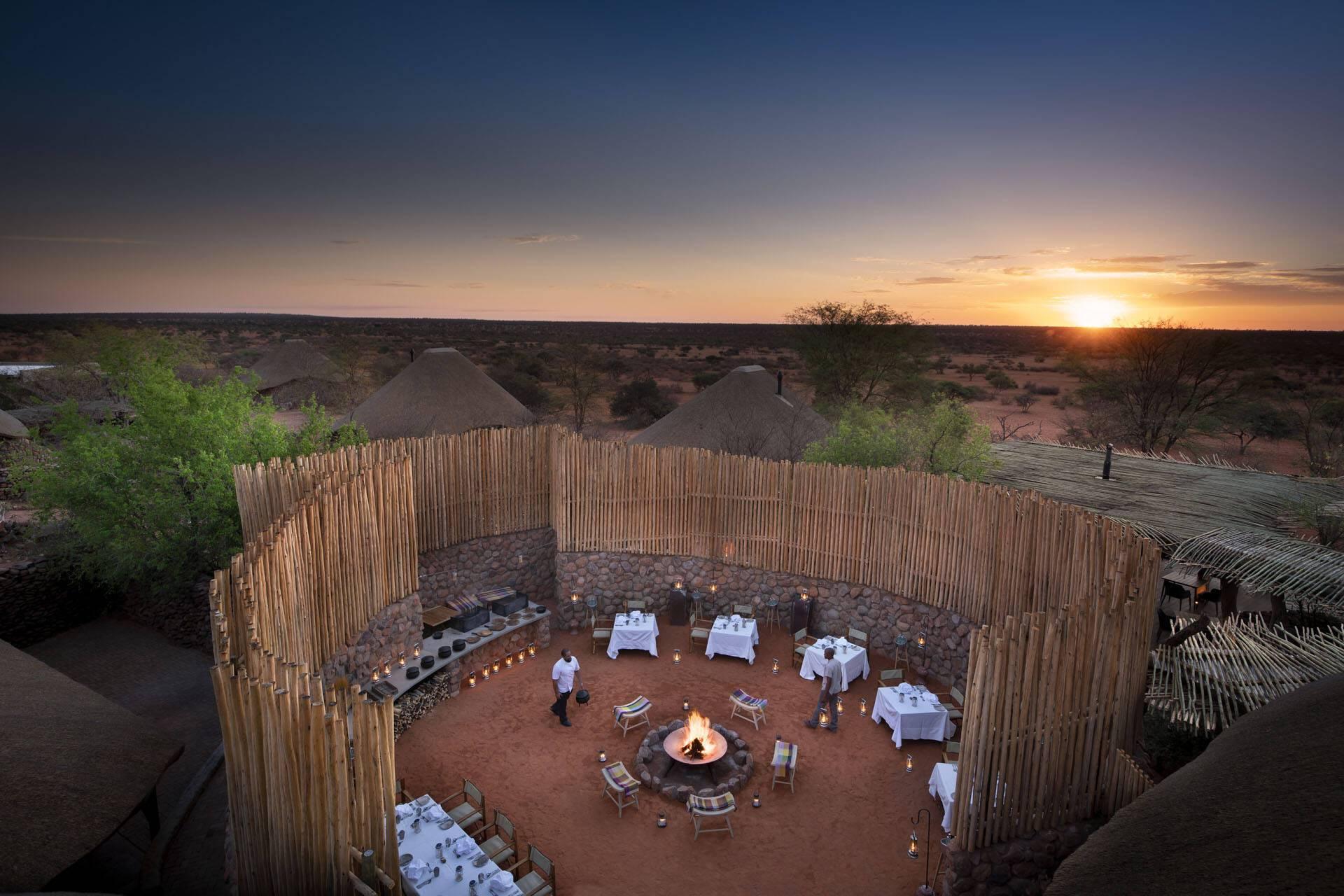 Tswalu Reserve Afrique Sud Diner