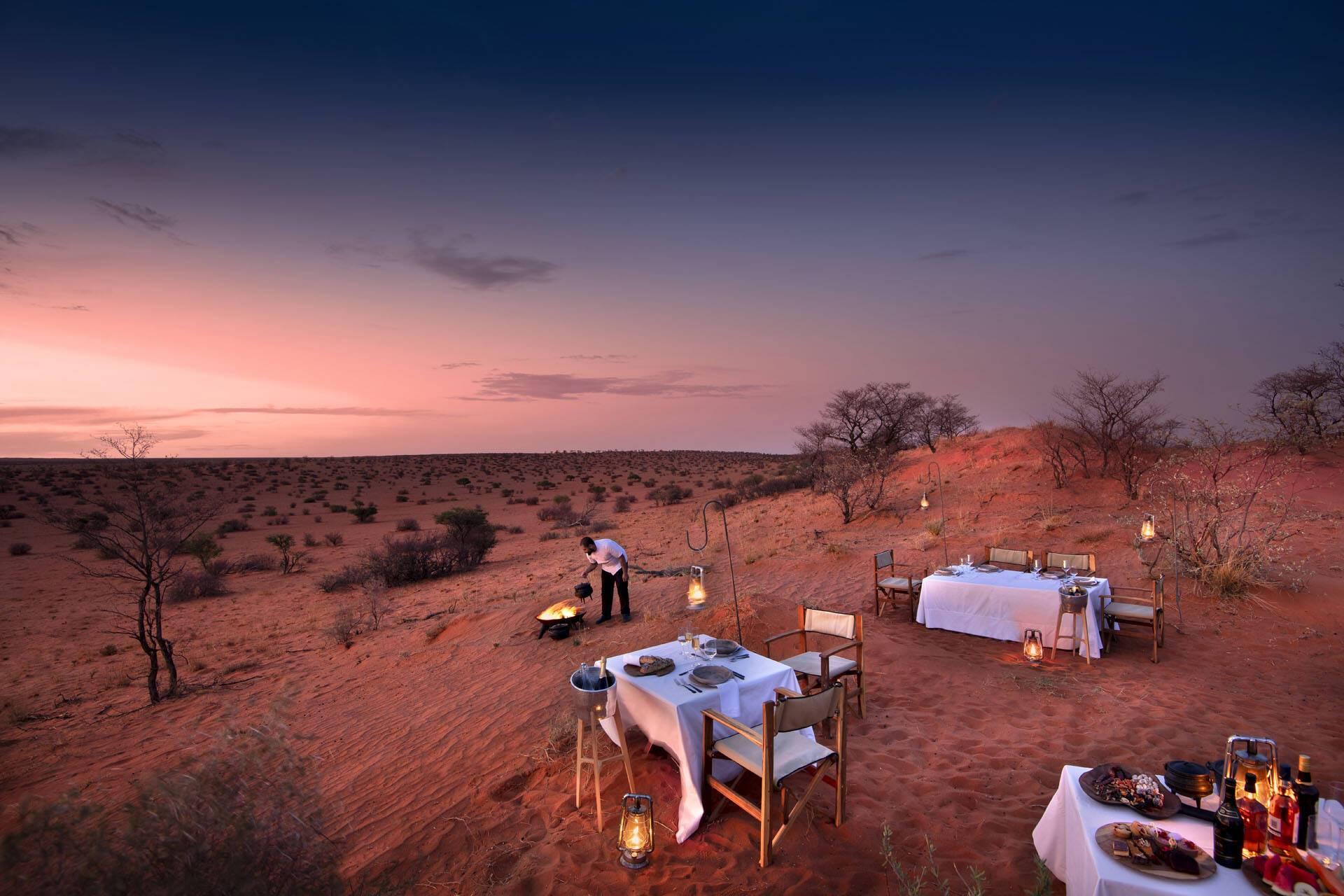 Tswalu Reserve Afrique Sud Dining