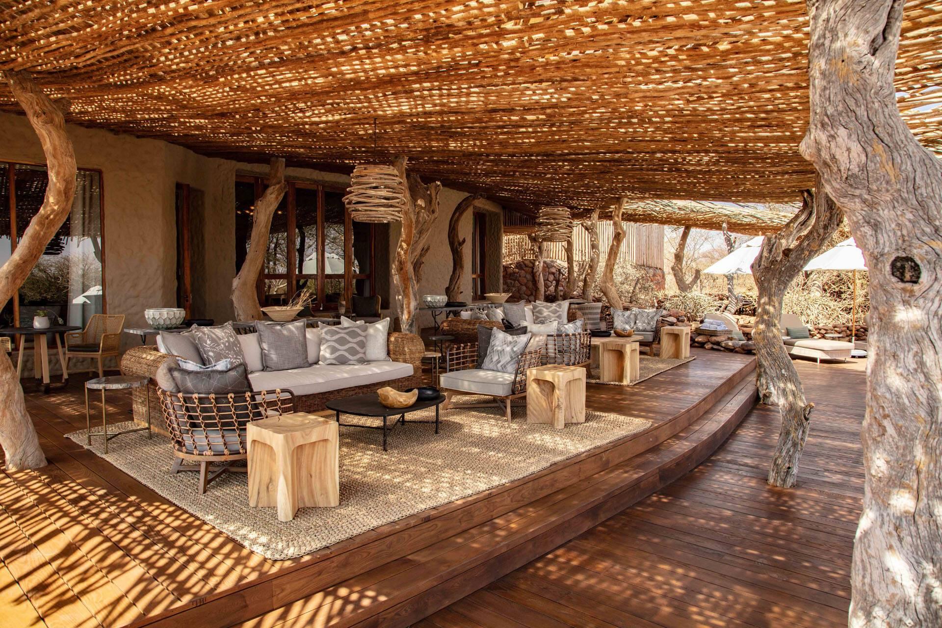 Tswalu Reserve Motse Afrique Sud Lounge