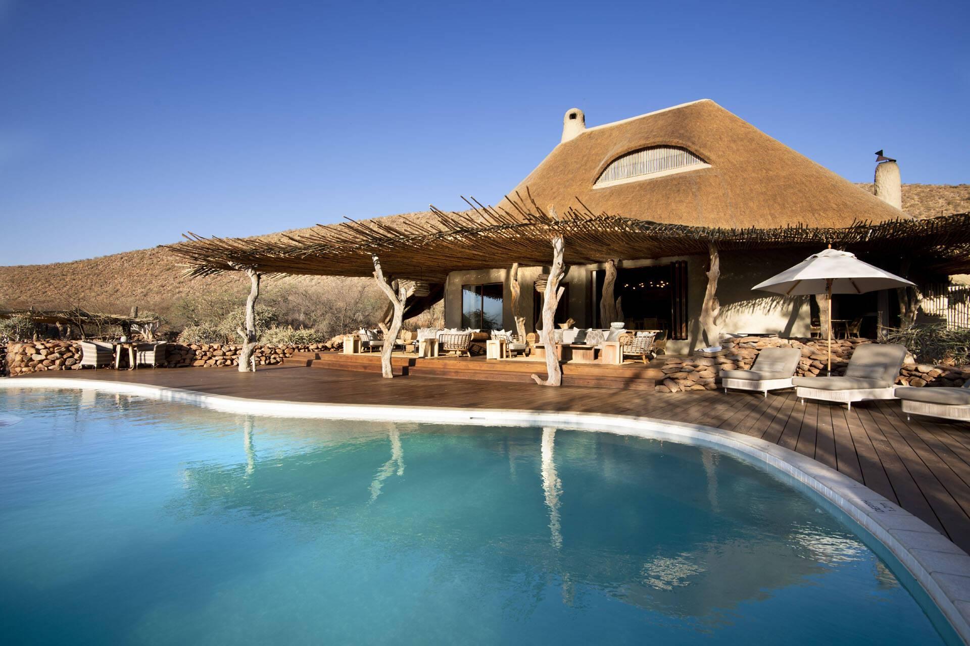 Tswalu Reserve Motse Afrique Sud Piscine