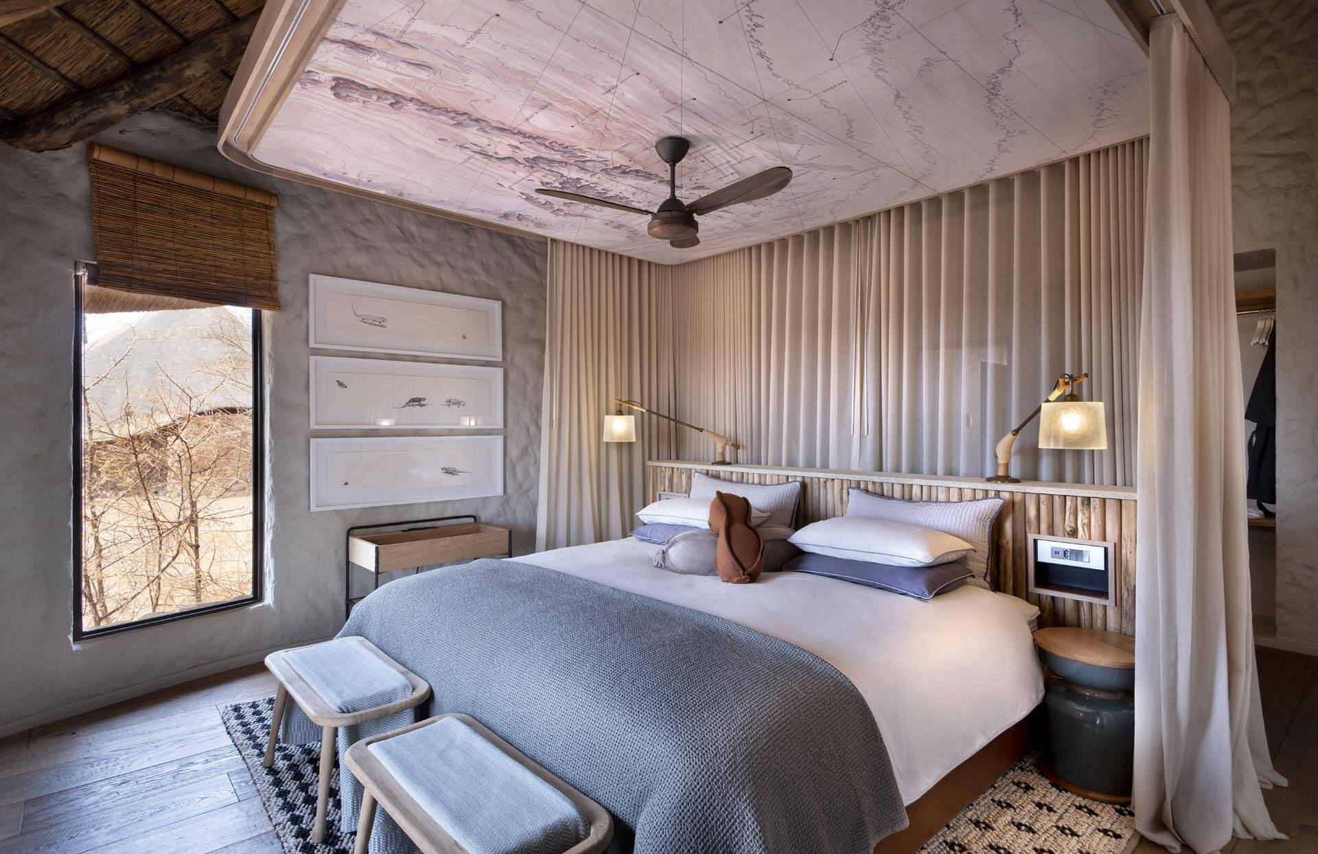 Tswalu Reserve Motse Afrique Sud Suite Chambre