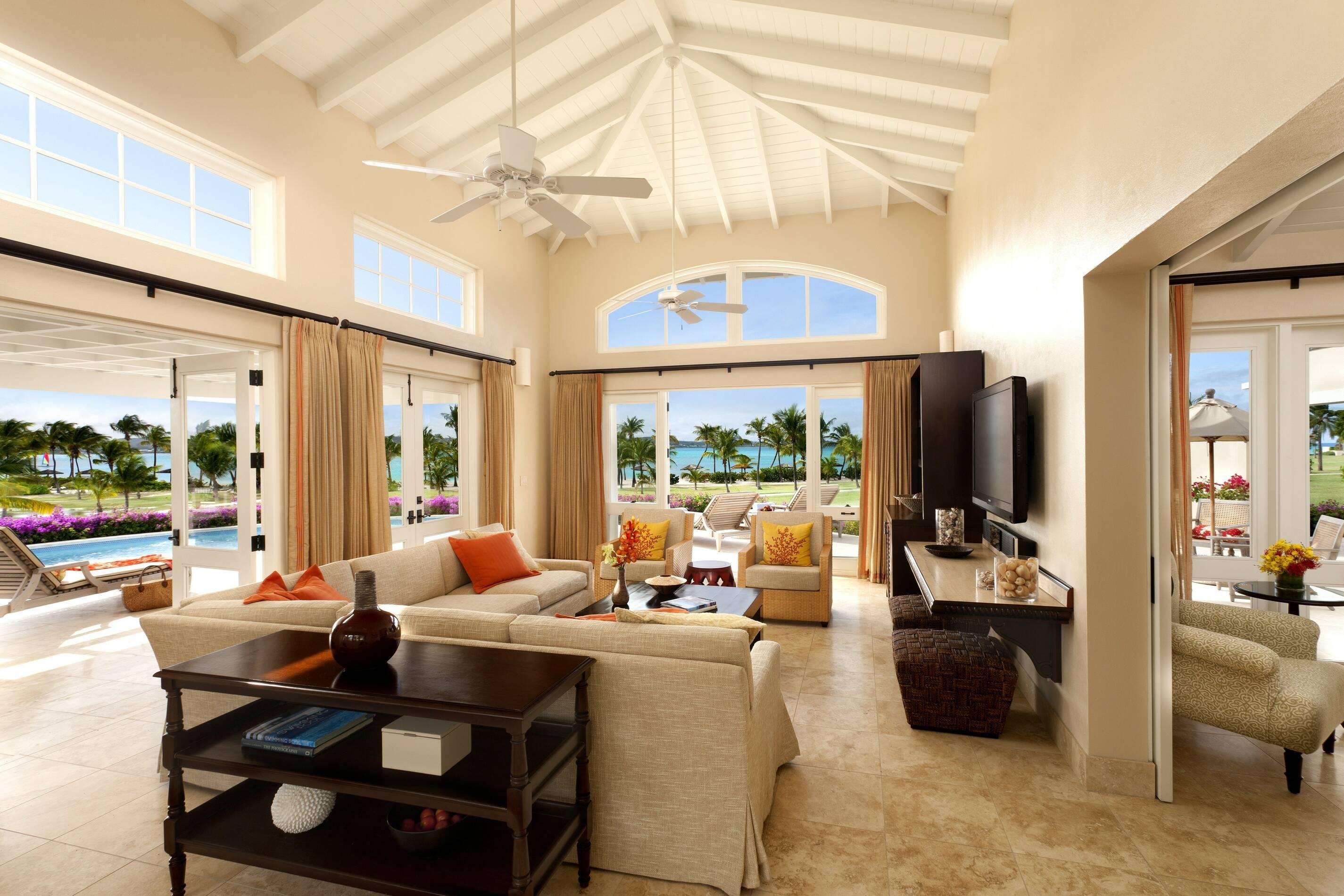Jumby Bay Antigua et Barbuda estate suite