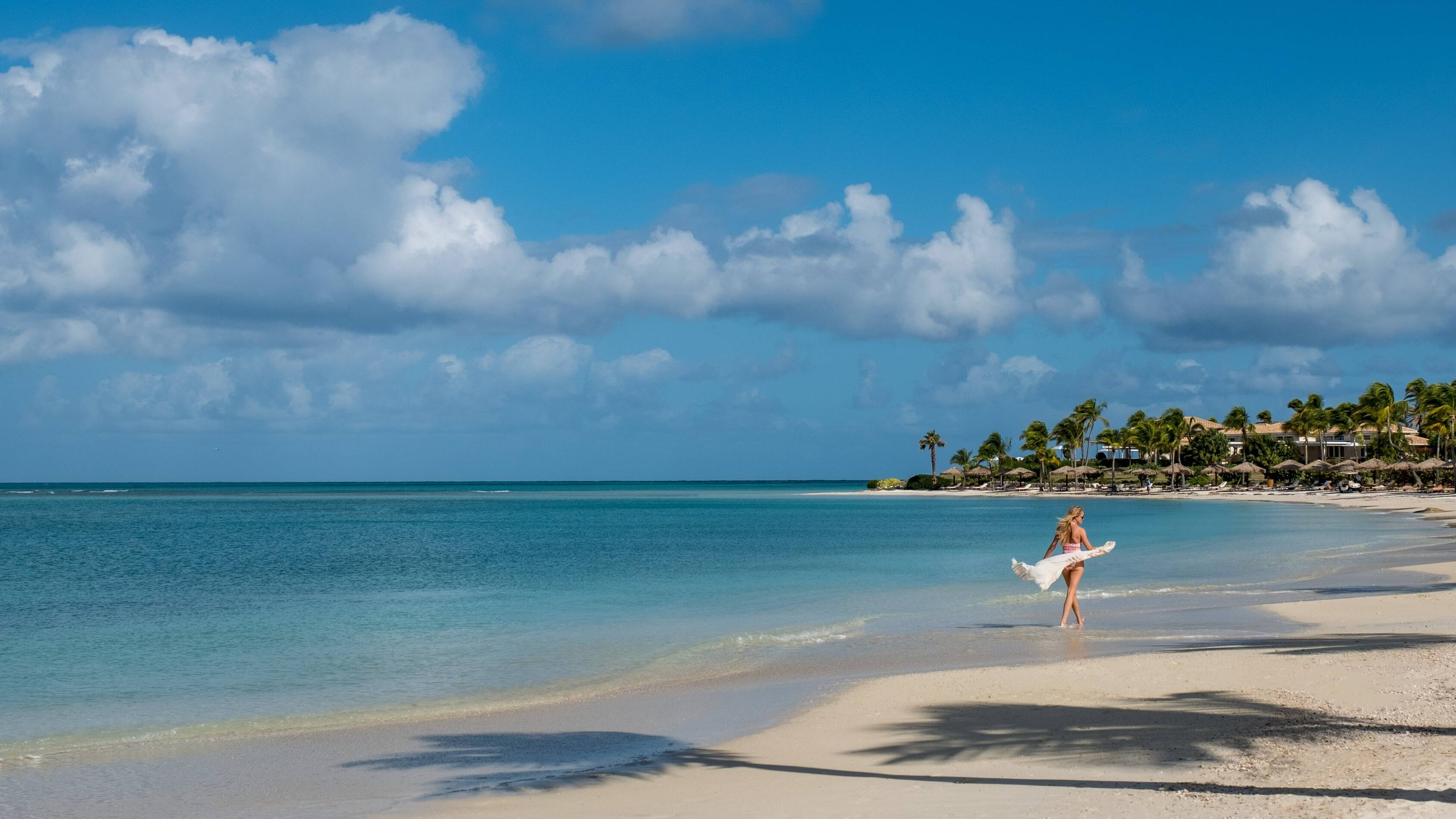 Jumby Bay Antigua et Barbuda plage